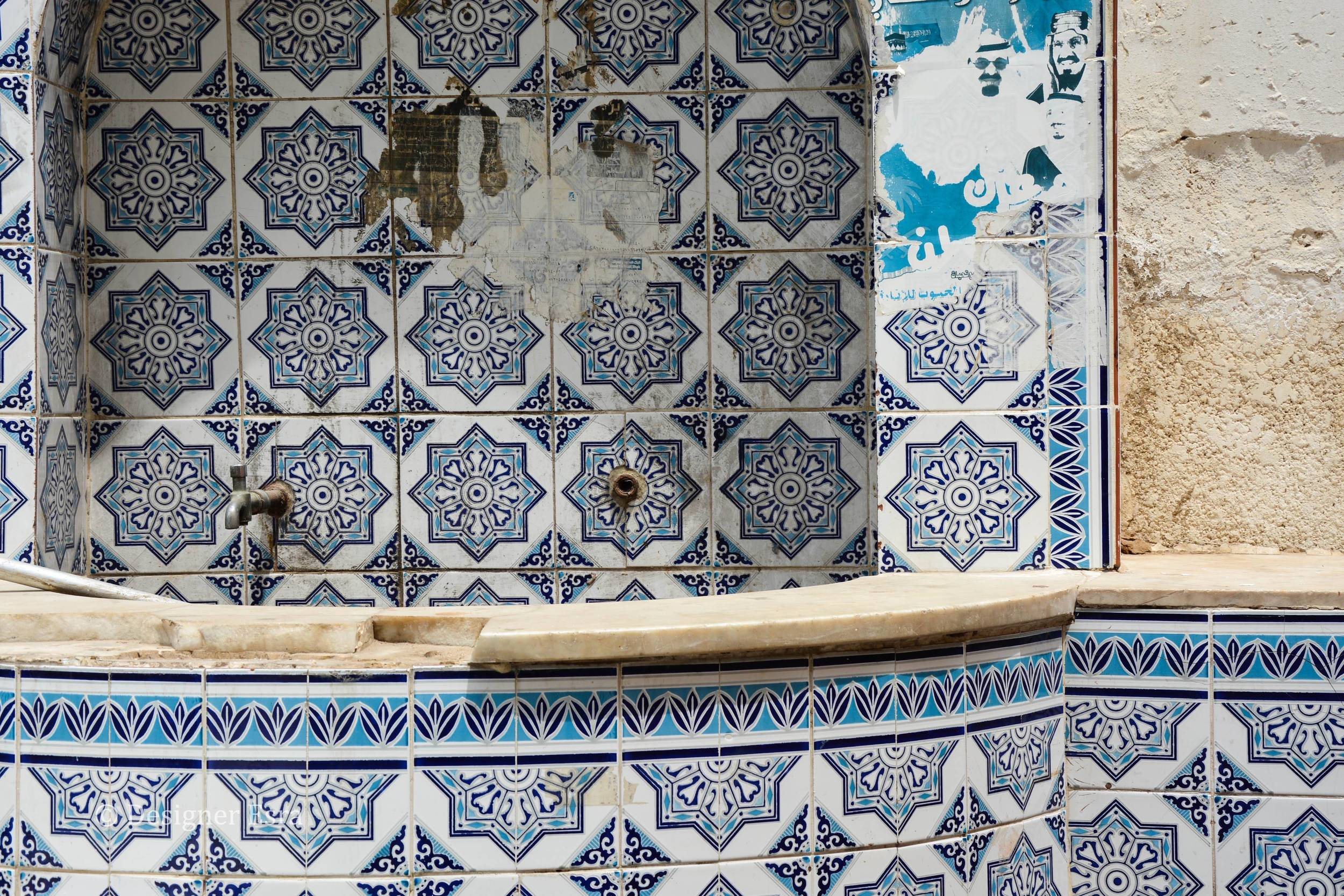 Tiles in Jeddah