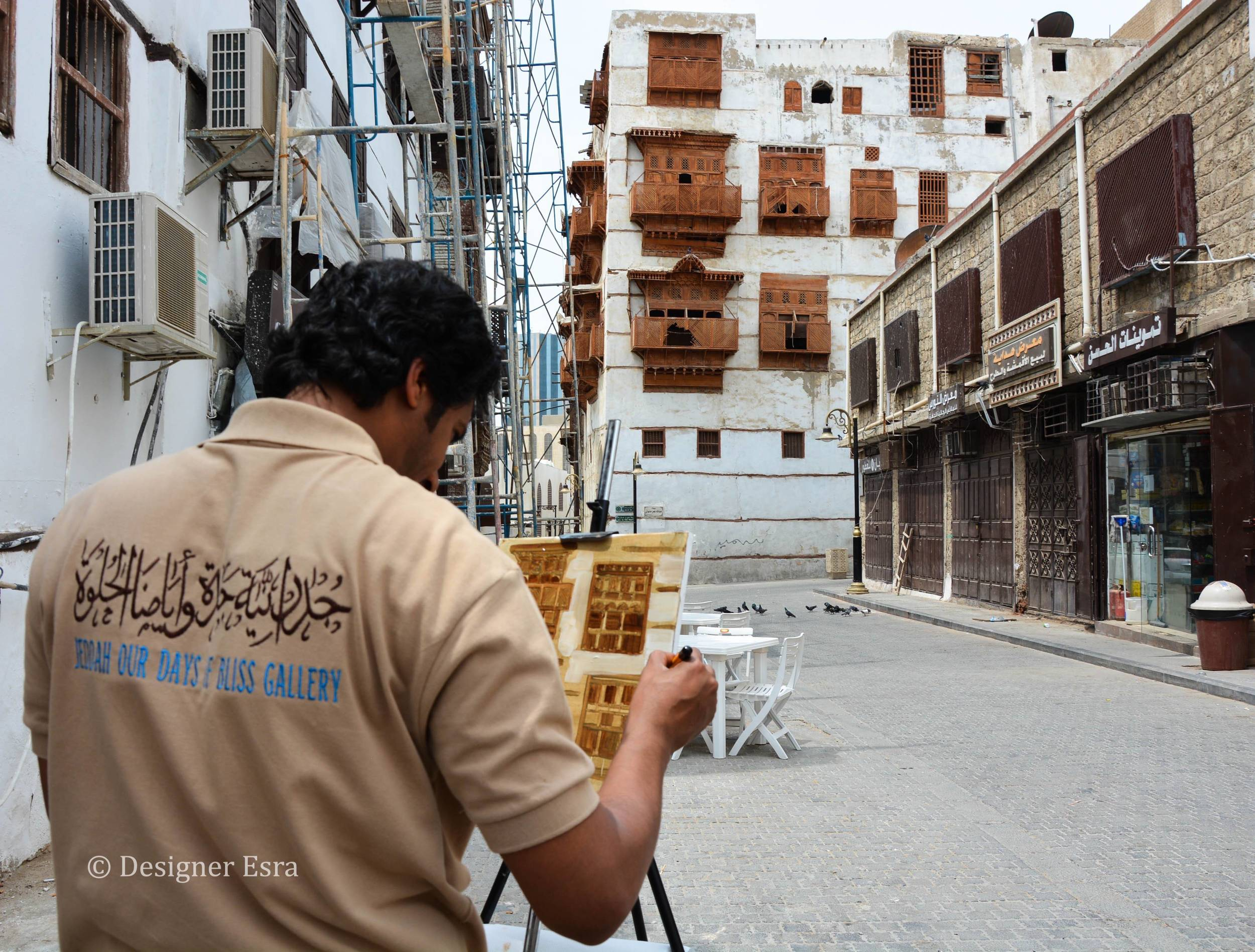 Painting in Jeddah