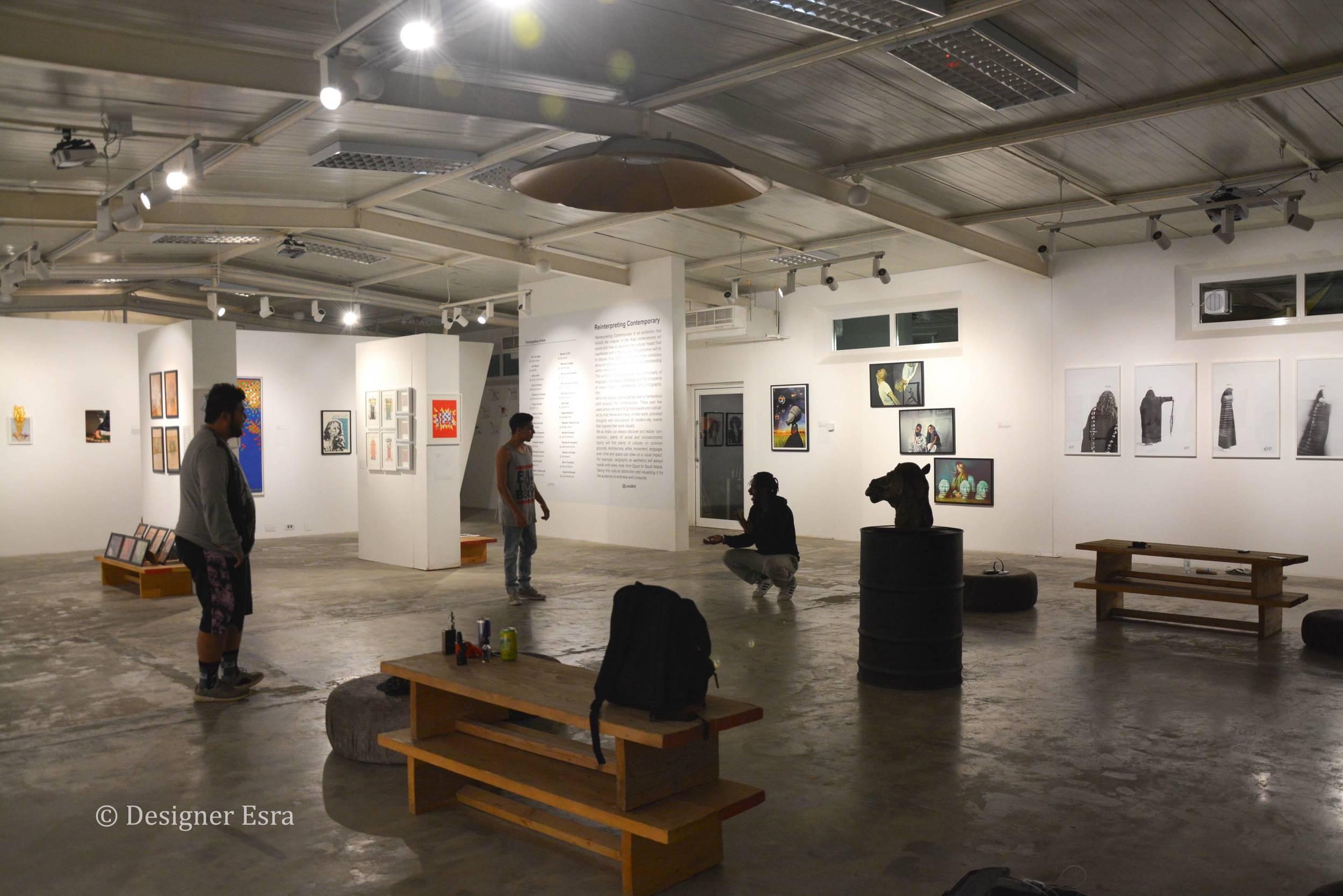 Malja Art Gallery in Bahrain - Loud Art 2016
