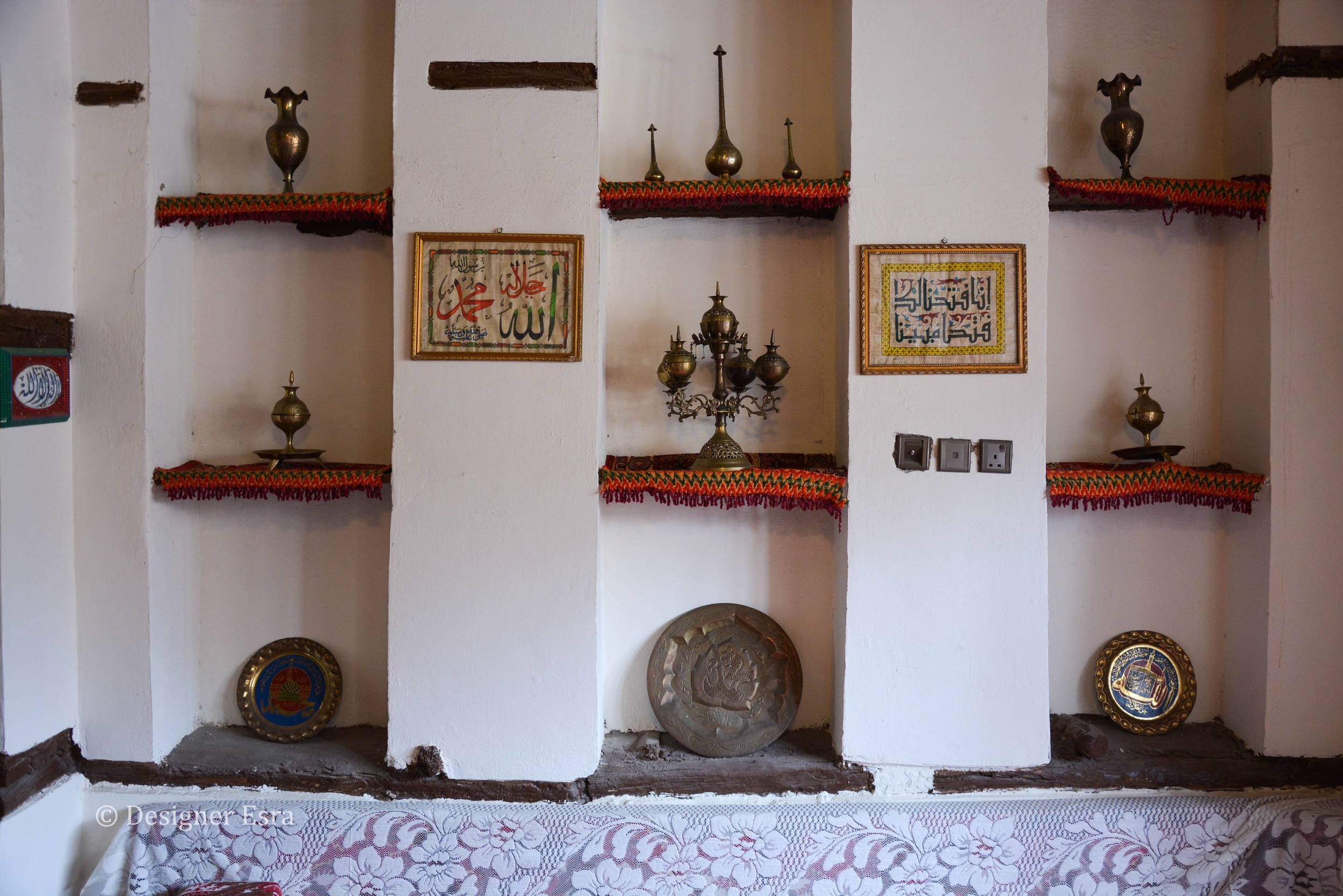 Art and Decor in historic houses in Saudi