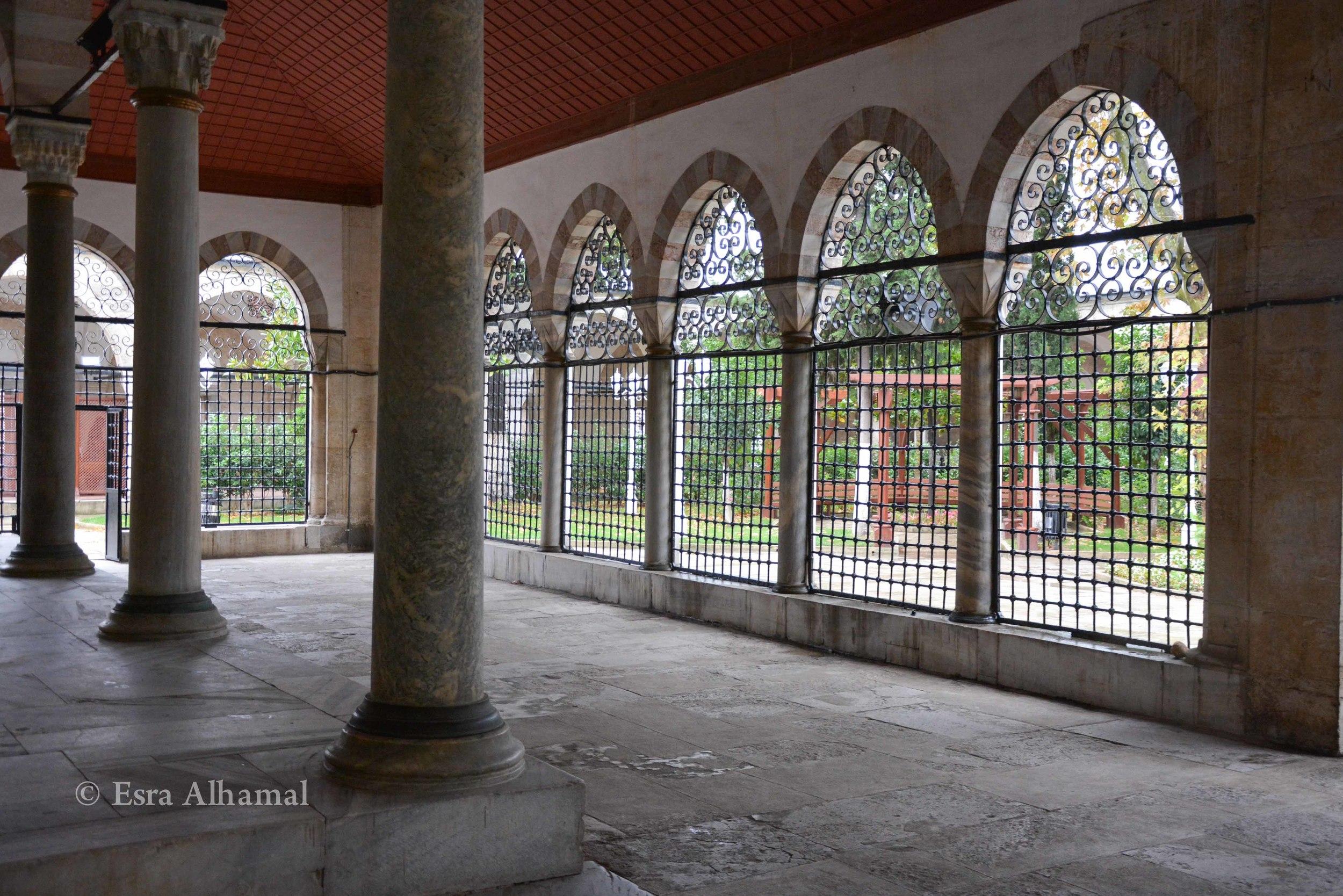 Atik Valide Mosque Courtyard