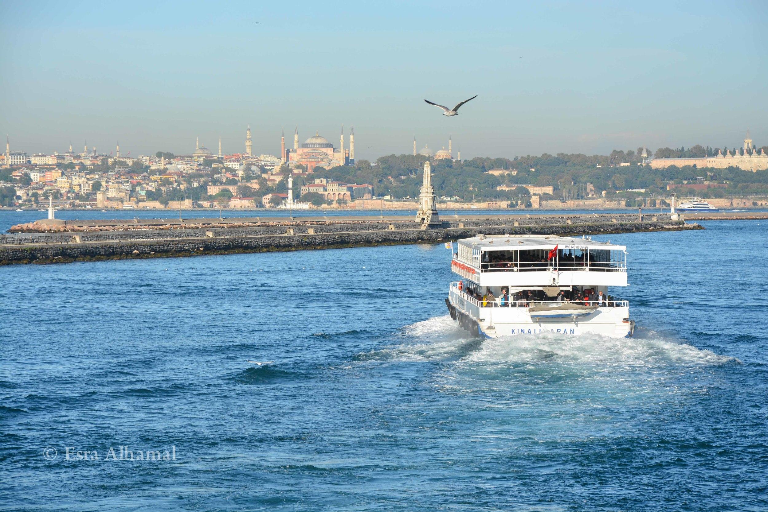 Ferry from Istanbul to Kadıköy