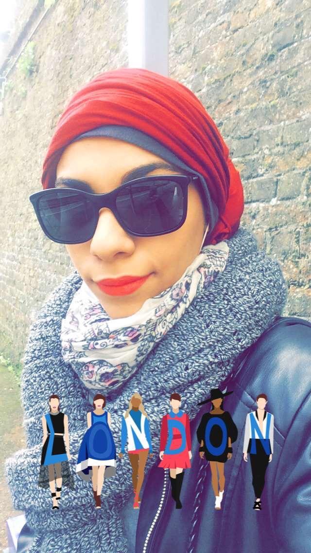 Turban style in London