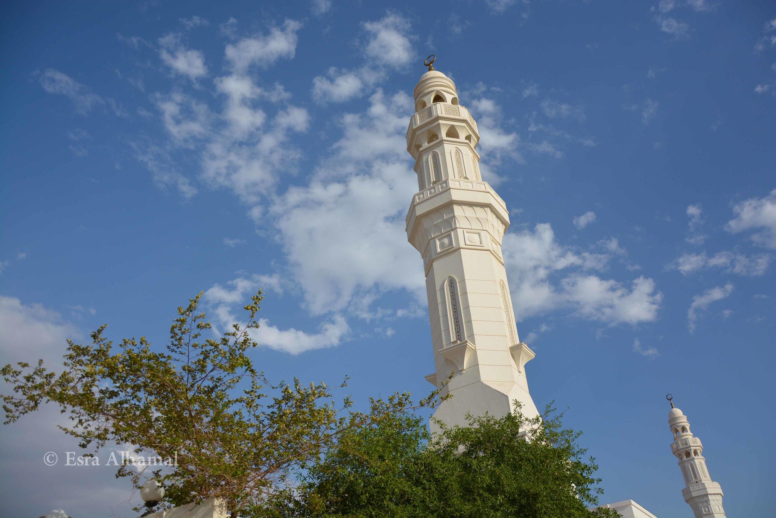 Al Khandaq Mosque (in seven mosques area) مسجد الخندق في منطقة السبع مساجد