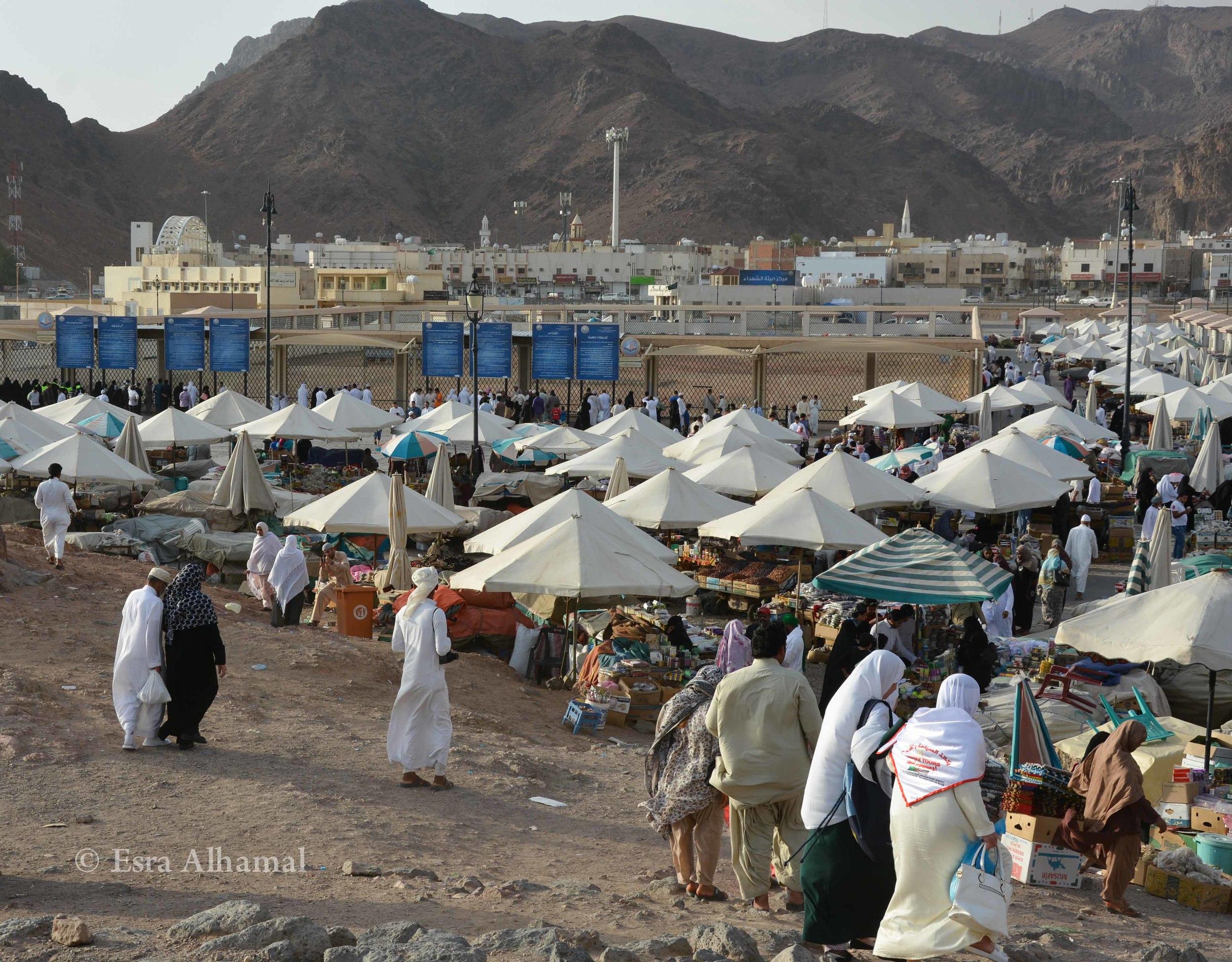 Market Shopping in Medina