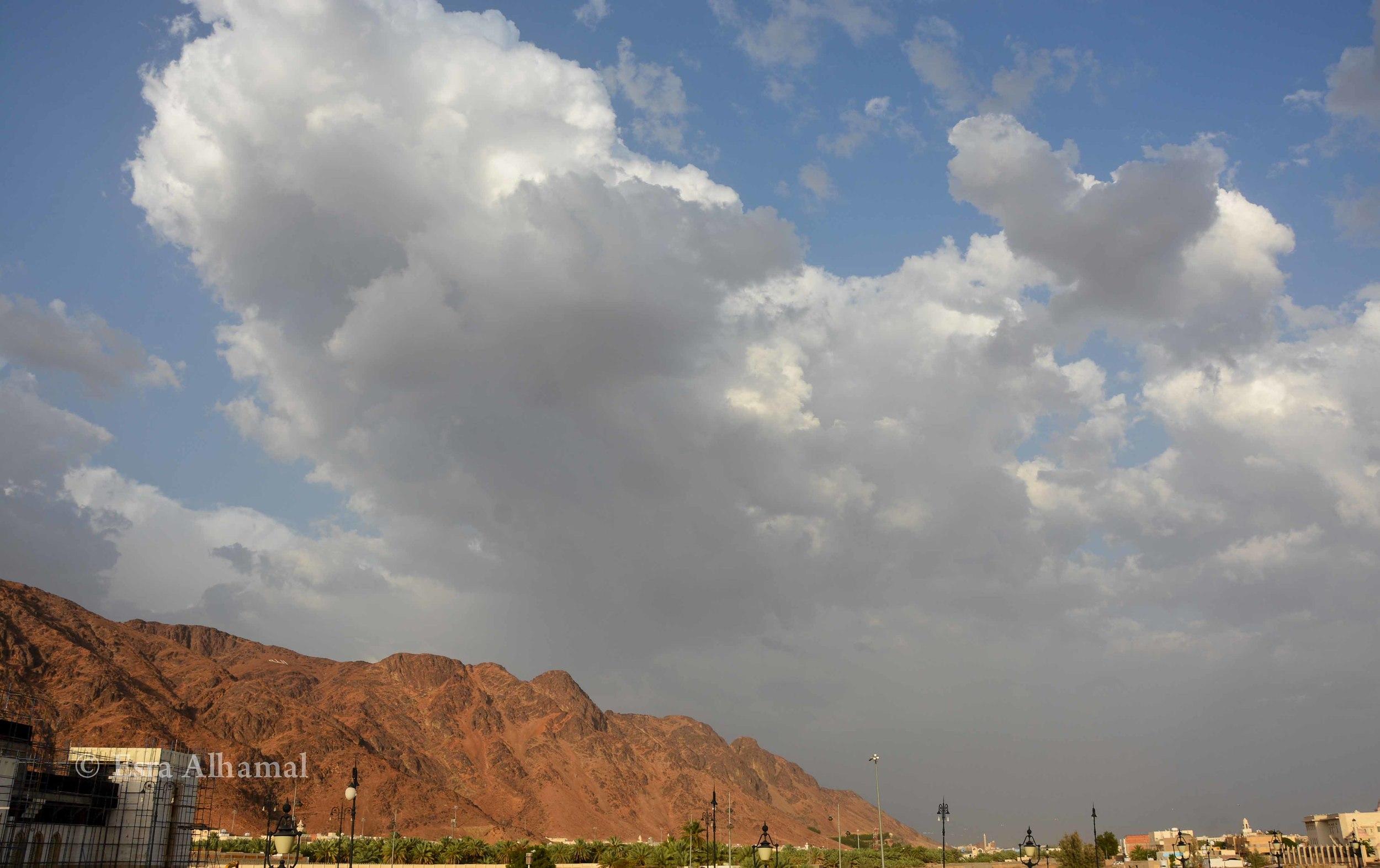 جبل أحد - Mountain Auhd