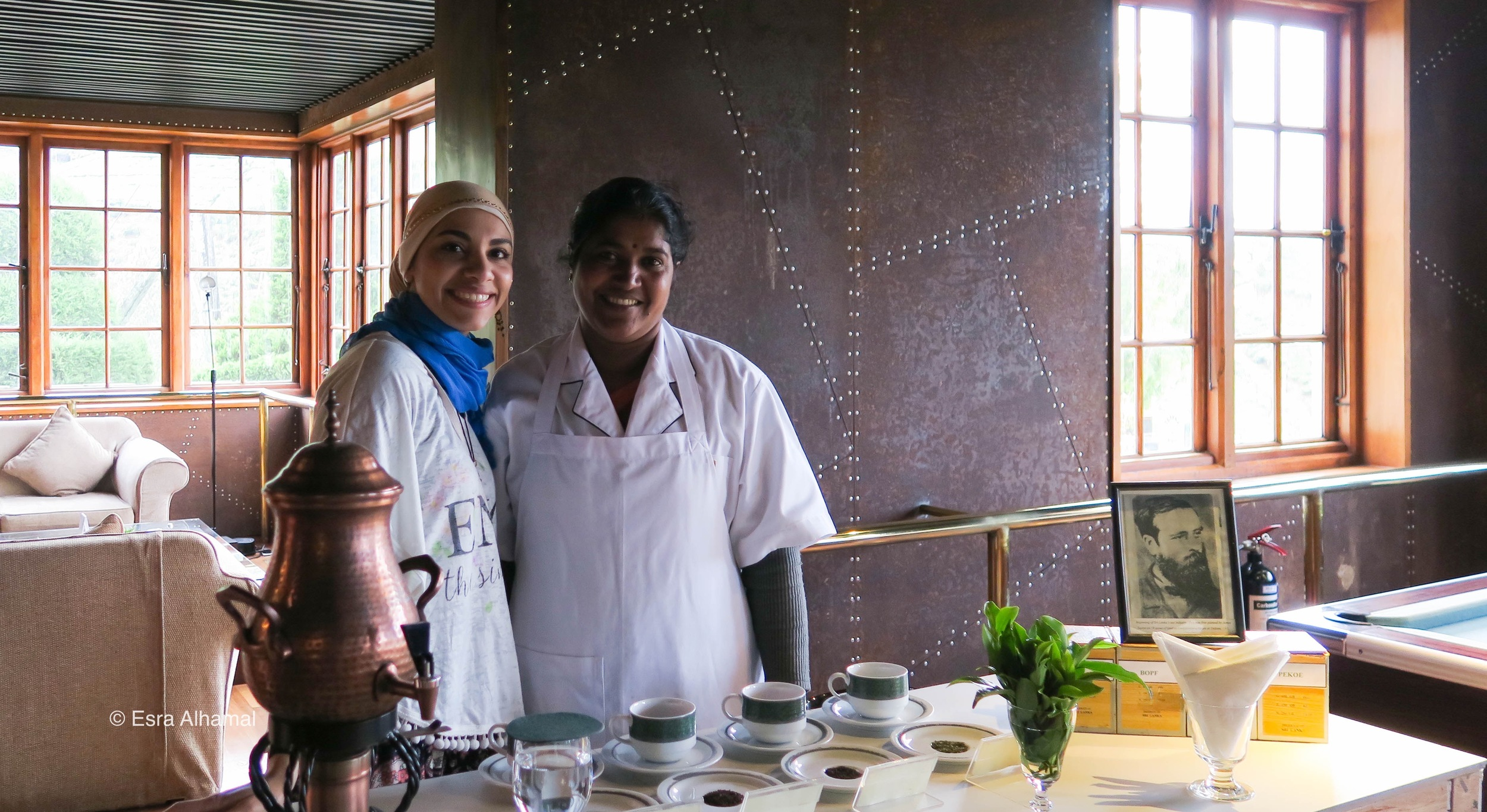 Tea Tasting in Sri Lanka in Heritance Tea Factory