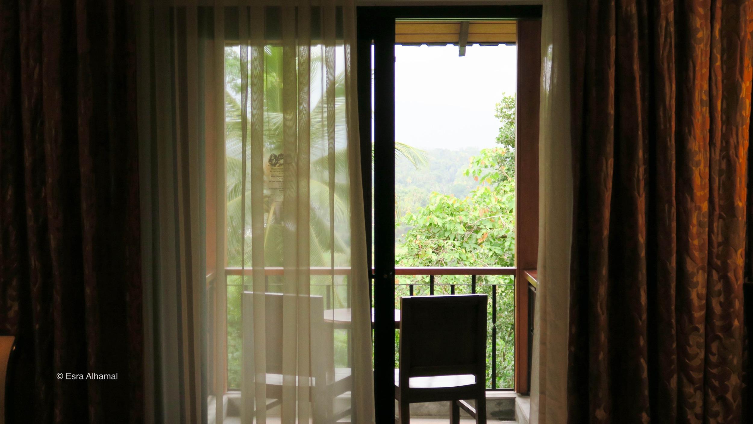 my balcony in Earl's Regency