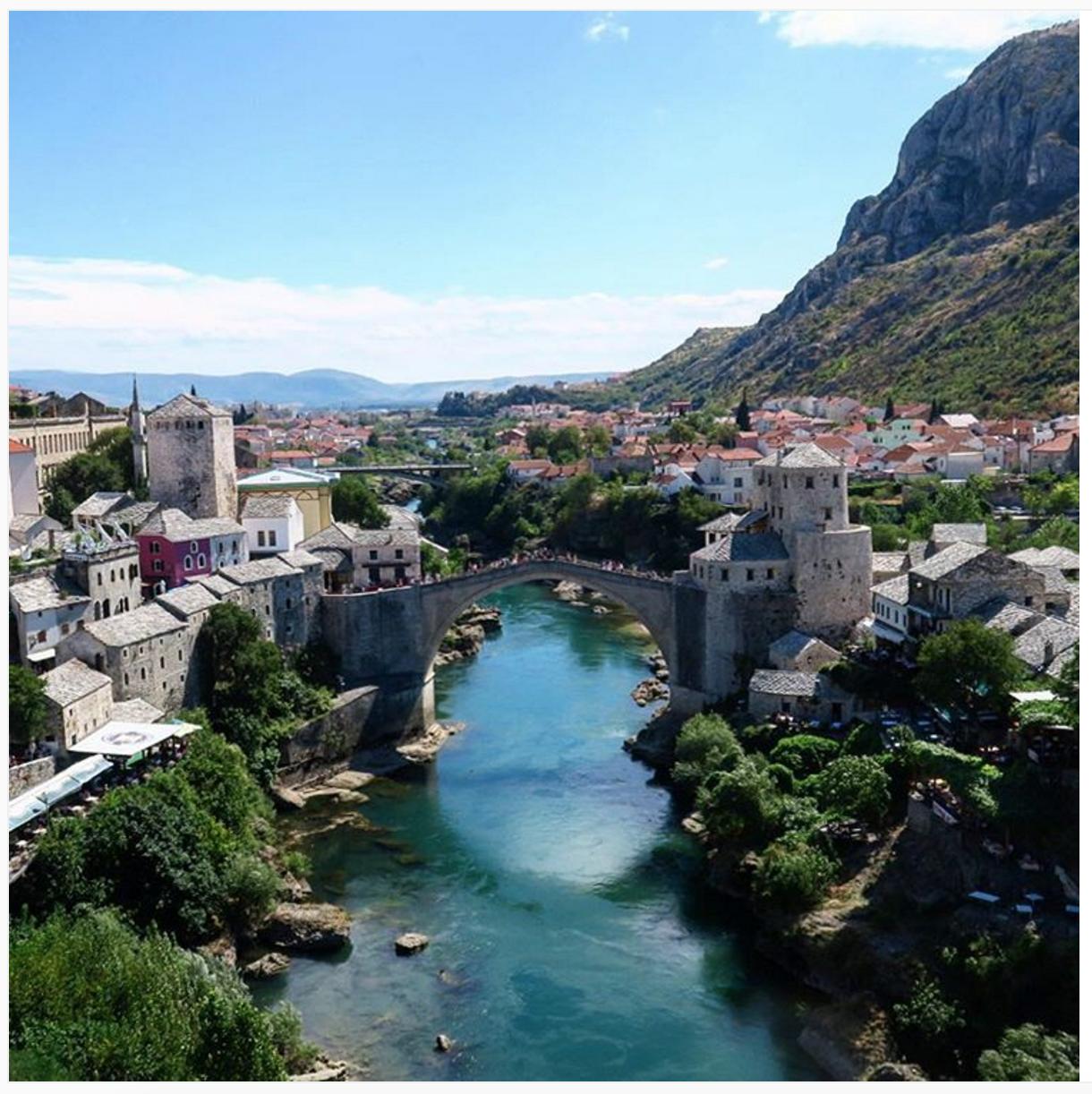 Old Bridge in Mostar