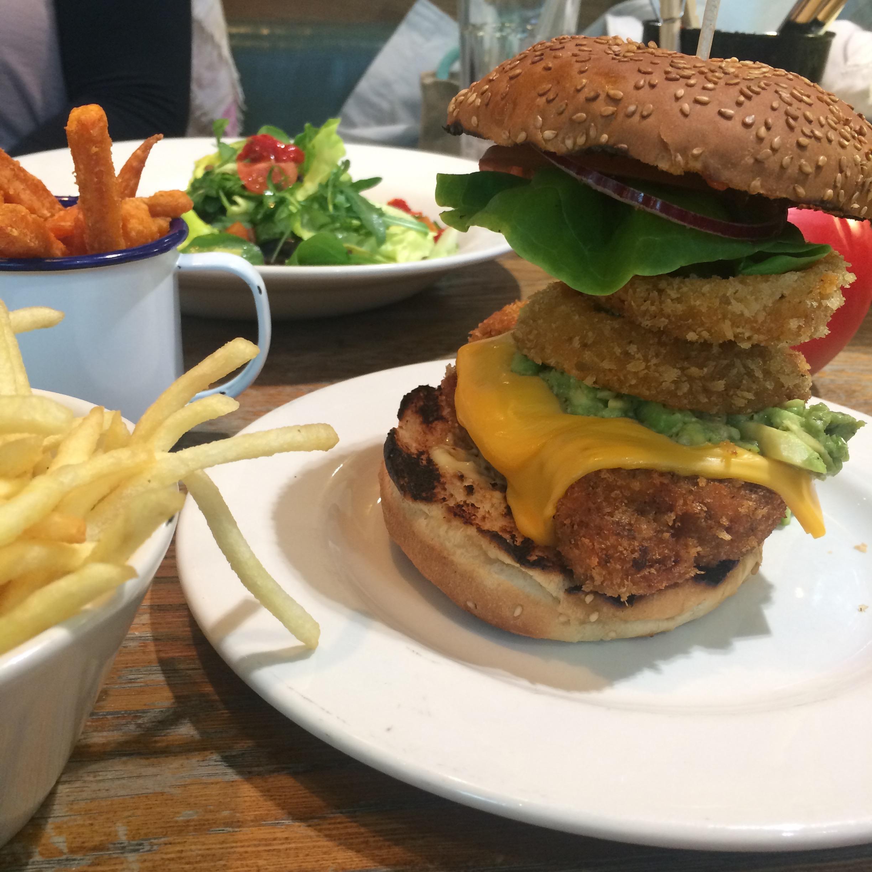 Chicken Burger in London