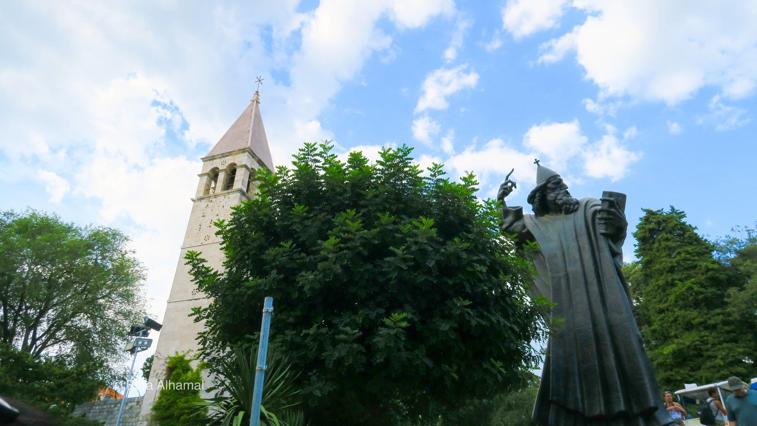 Statue of Grgur Ninski
