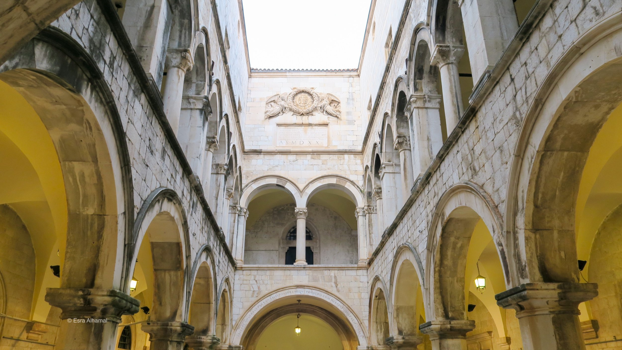 Inside of Rector's Palace