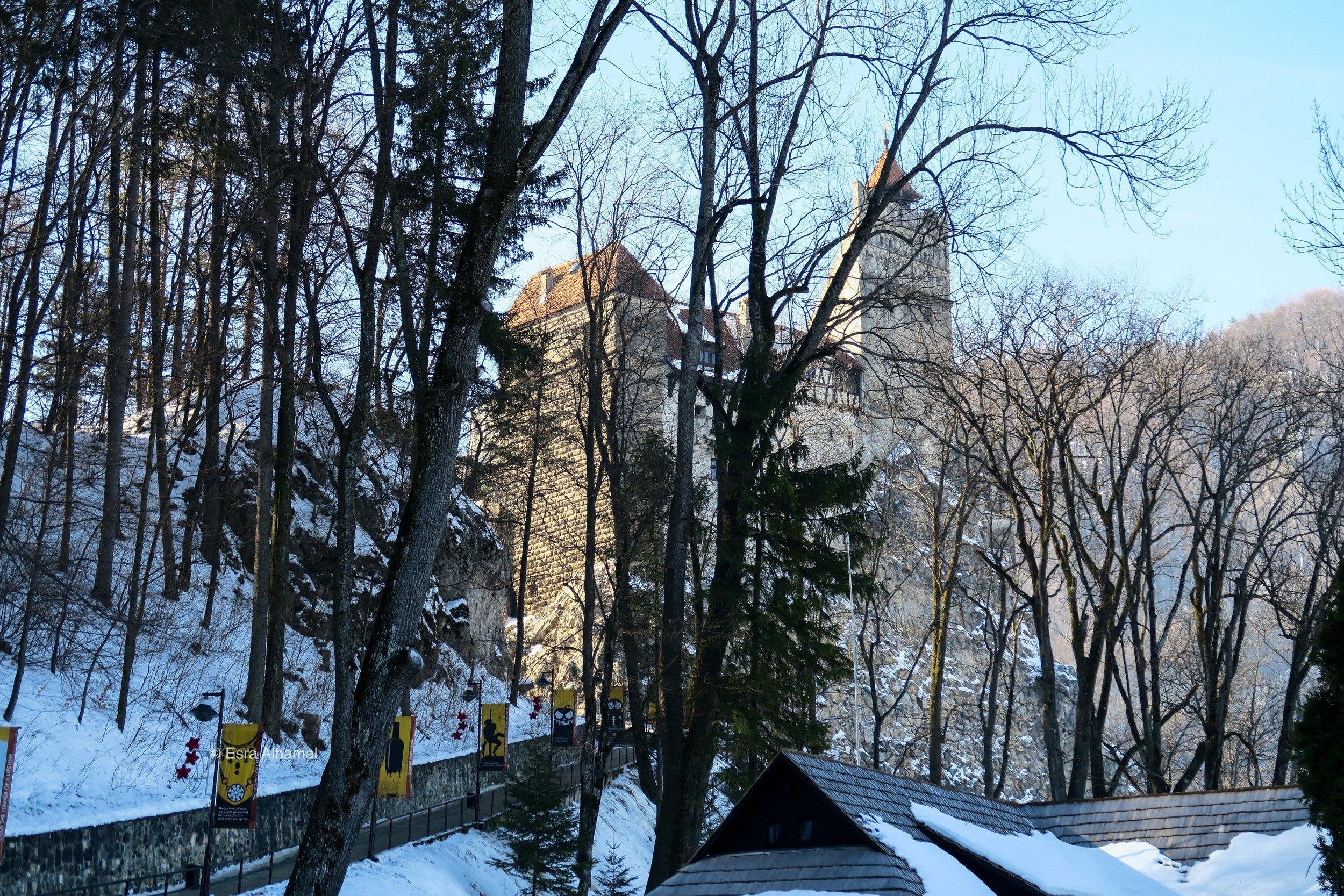 قلعة بران المعروفة بقلعة دراكولا
