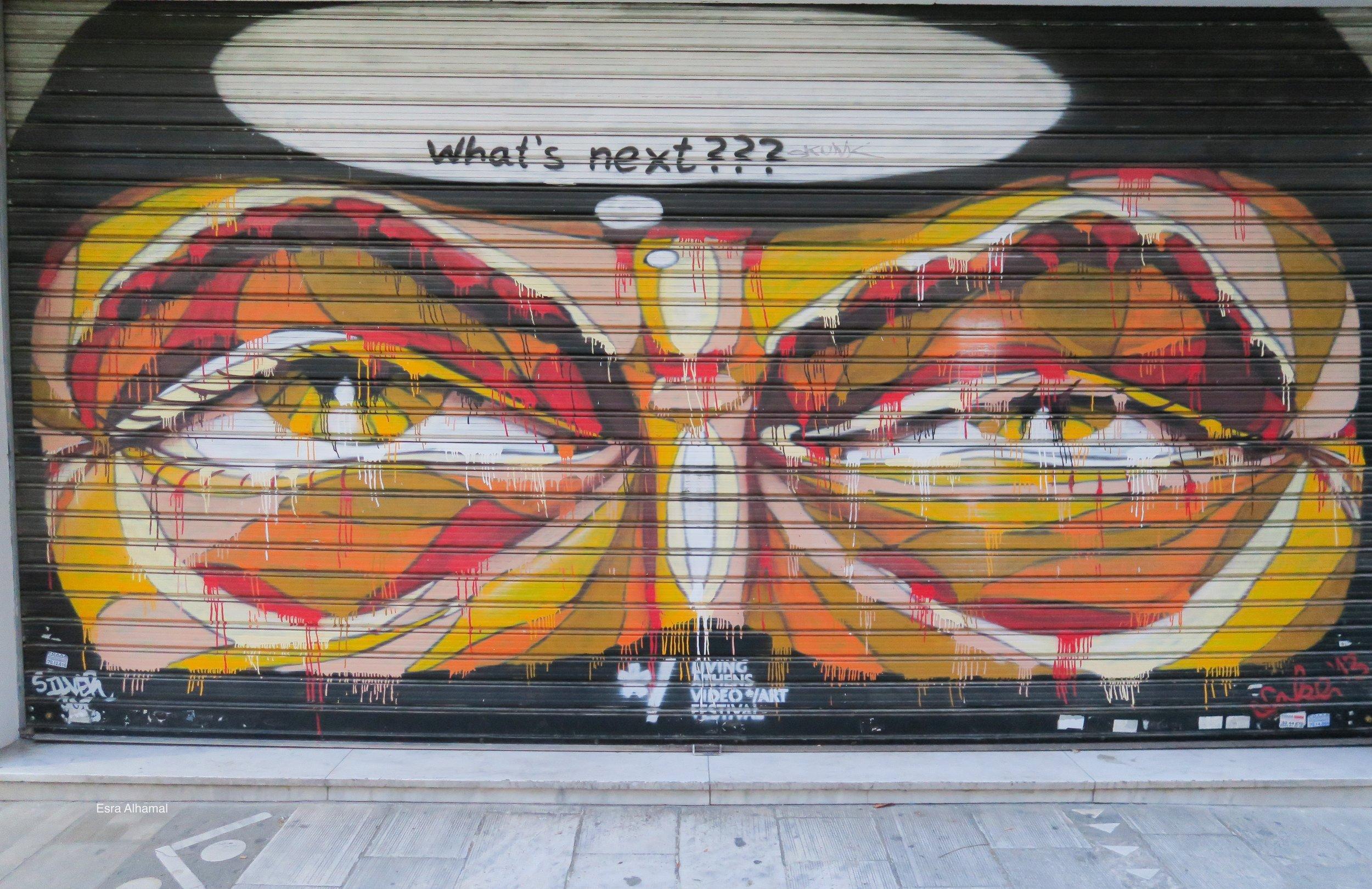 What's next? Graffiti