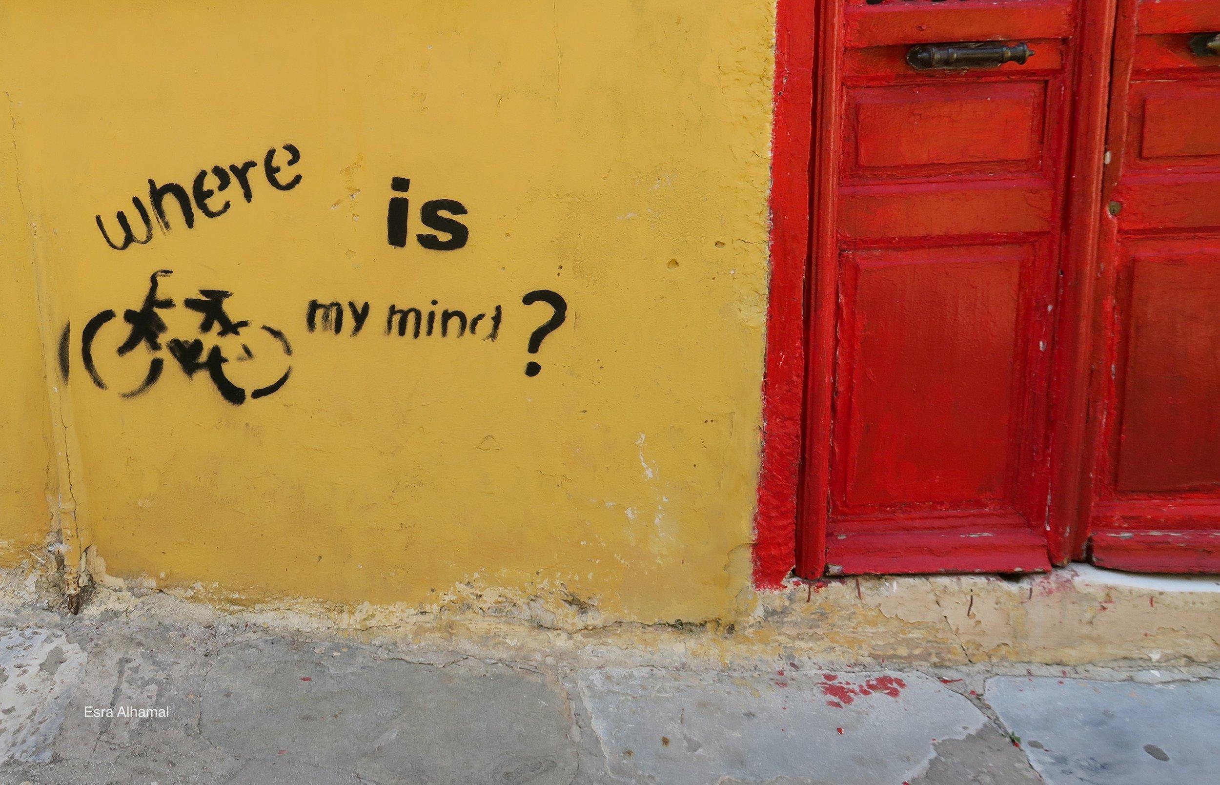 Where is my mind? Graffiti