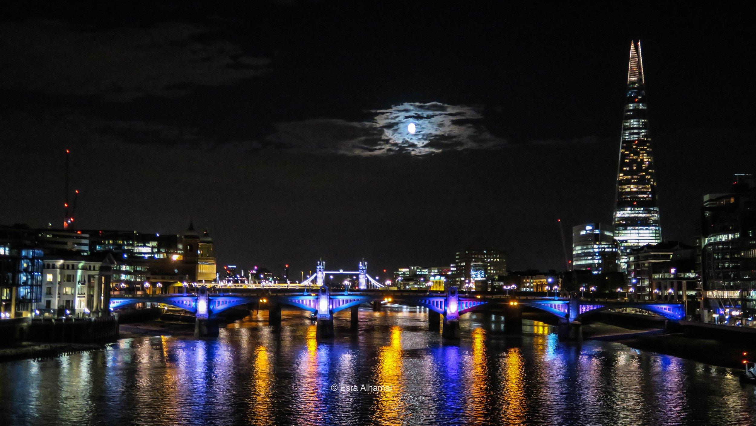 London Night Photography Using Canon G7X