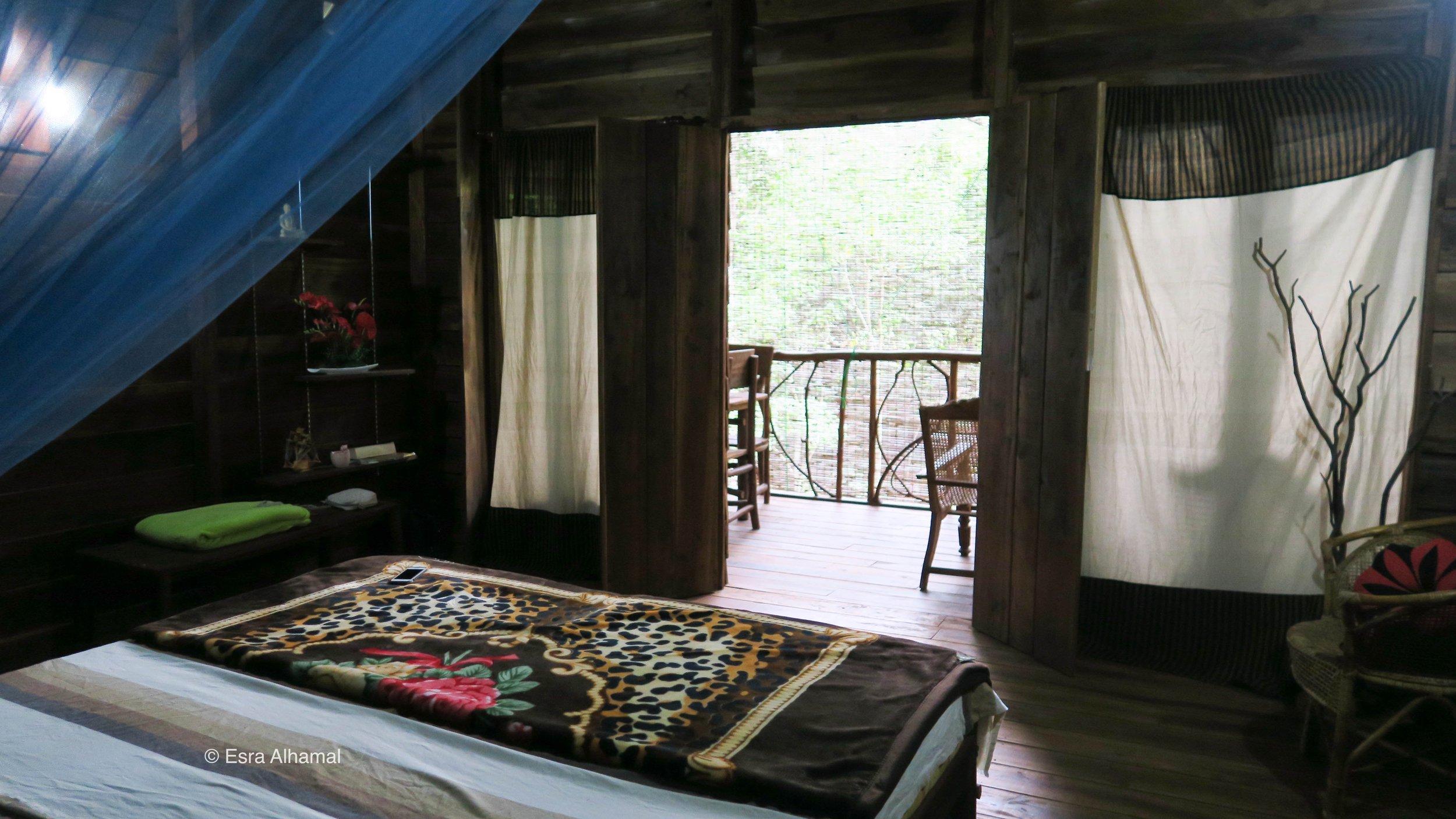 إيلا إكو لودج وهو بيت بين الأشجار في سريلانكا