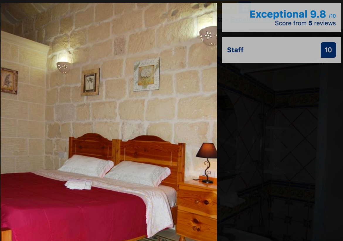 Places to stay in Gharb in Gozo
