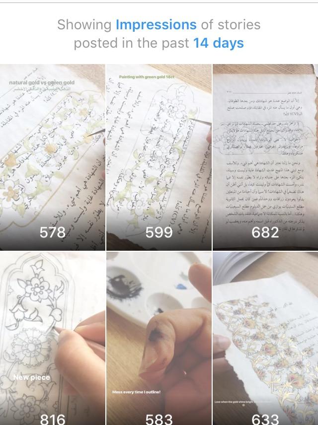 Impression of Instagram Stories