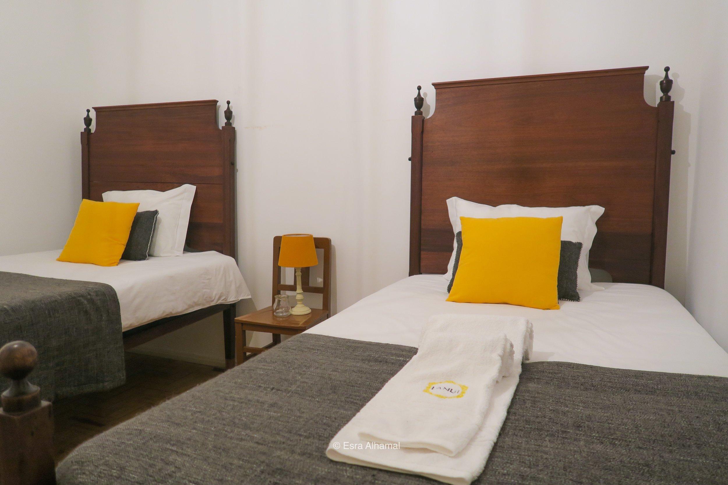 Twin Bedroom in Sintra