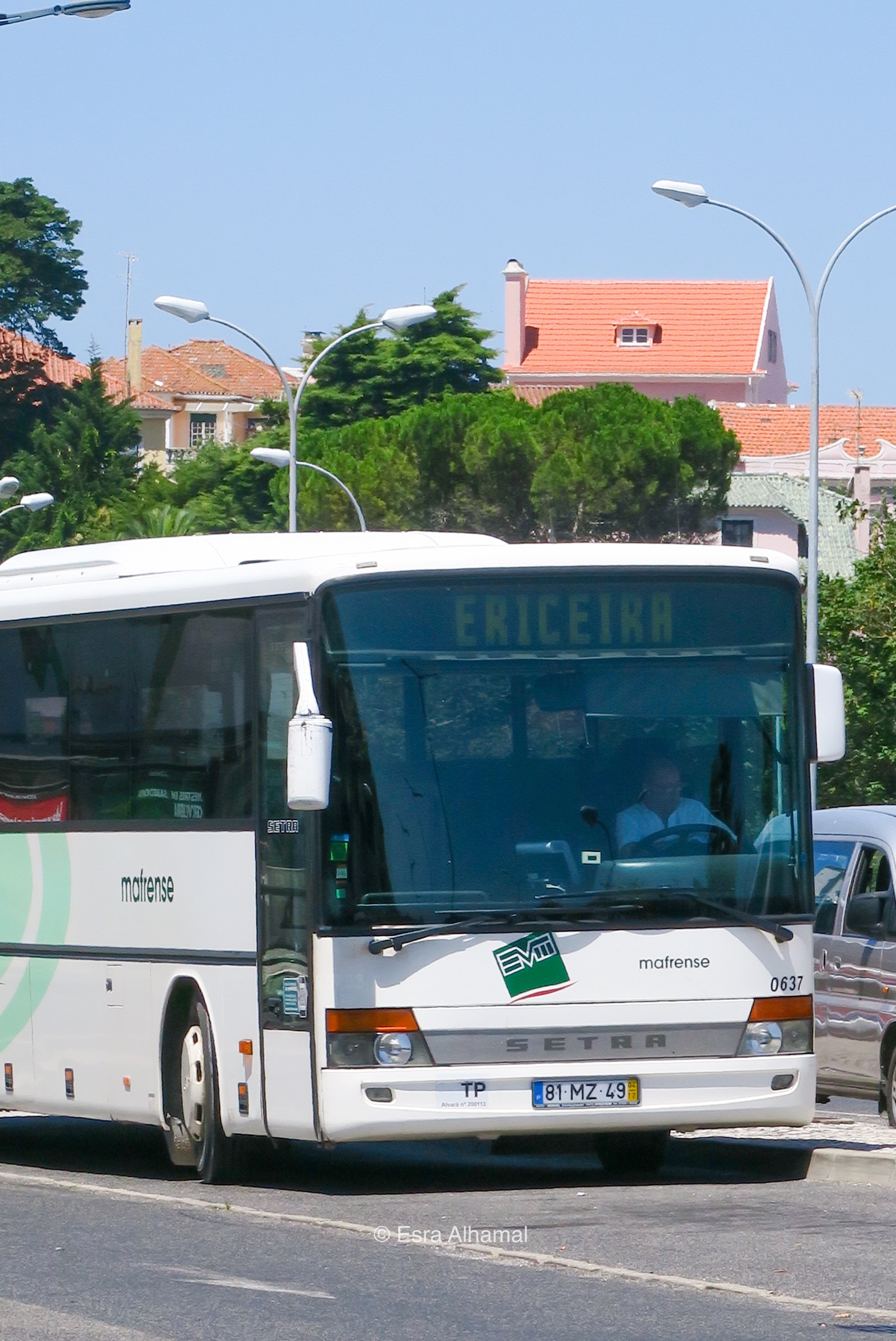Bus from Sintra to  Ericeira