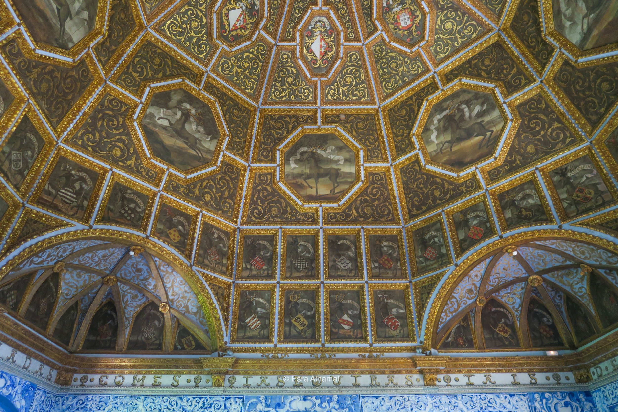 Sintra Palace Ceiling