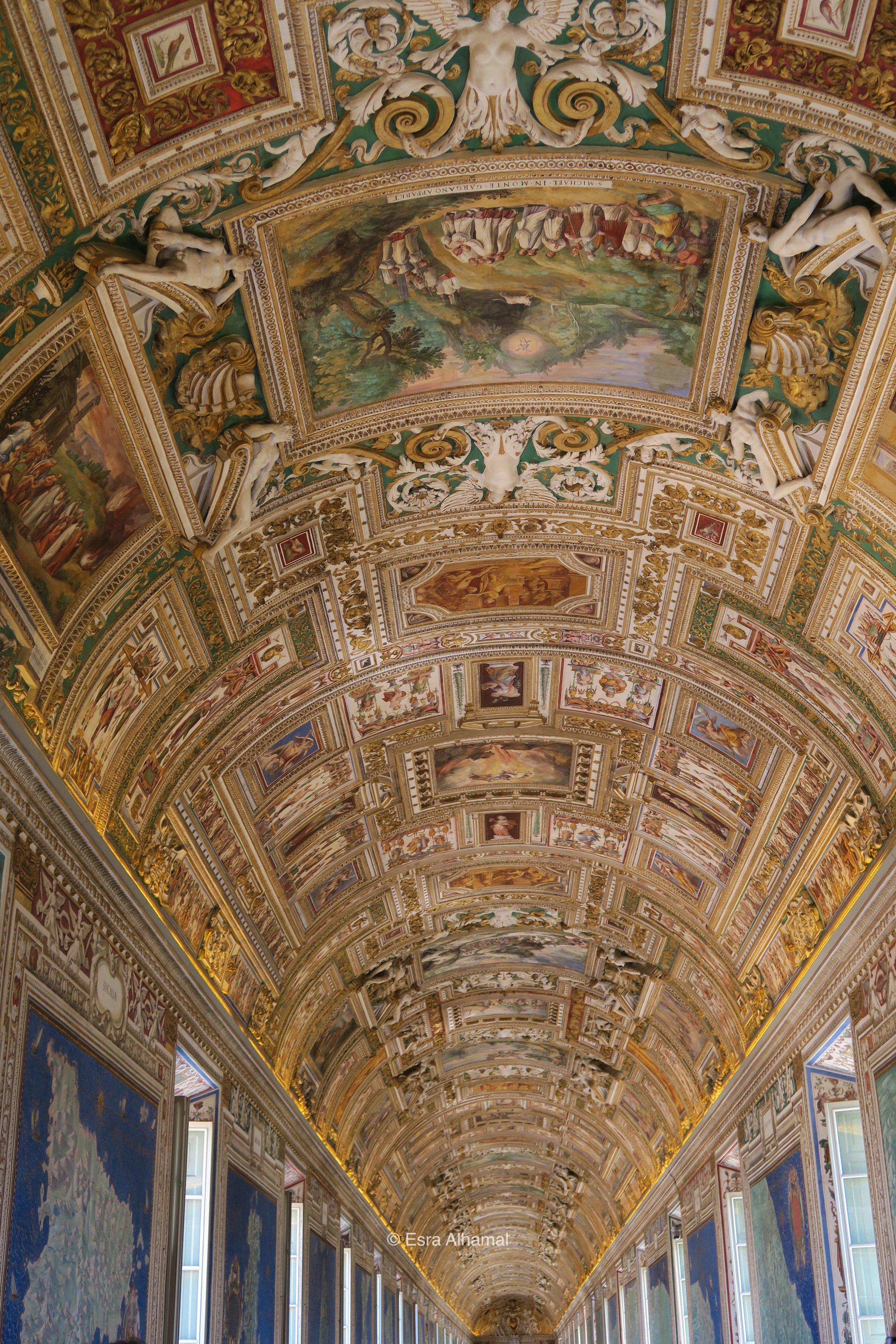 Vatican Museum - Room of Maps