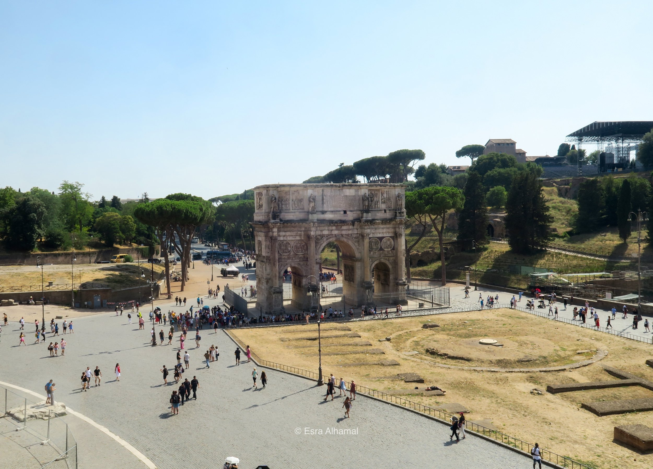 Roman Forum Entry