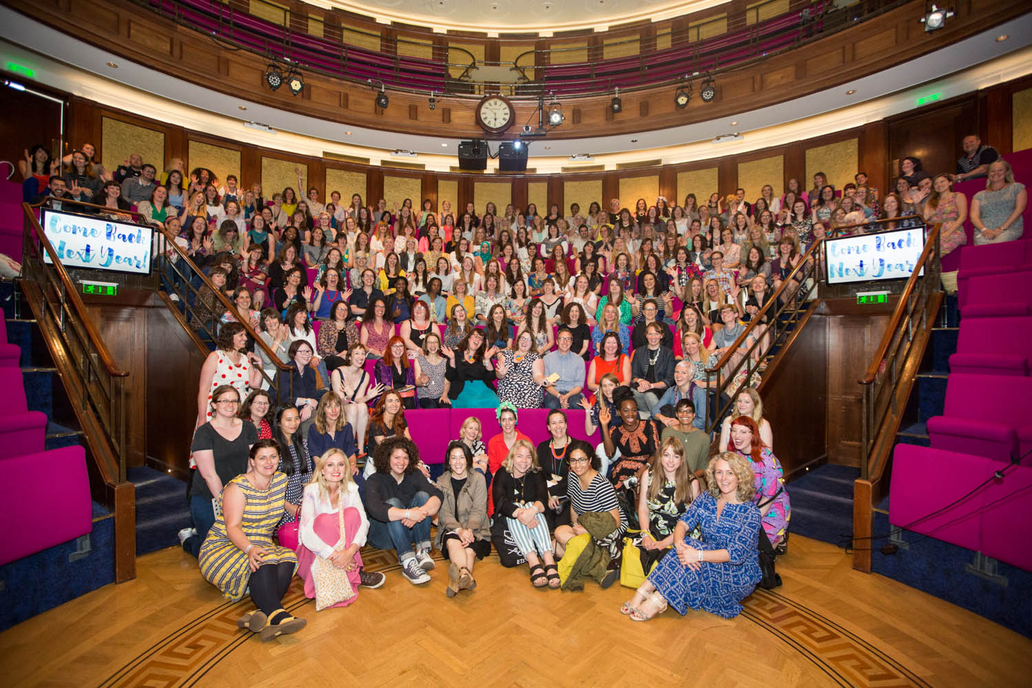 Blogtacular 2015 Official Photos by Piers MacDonald. Thanks Mollie Makes  Spot the green scarf that's me!!