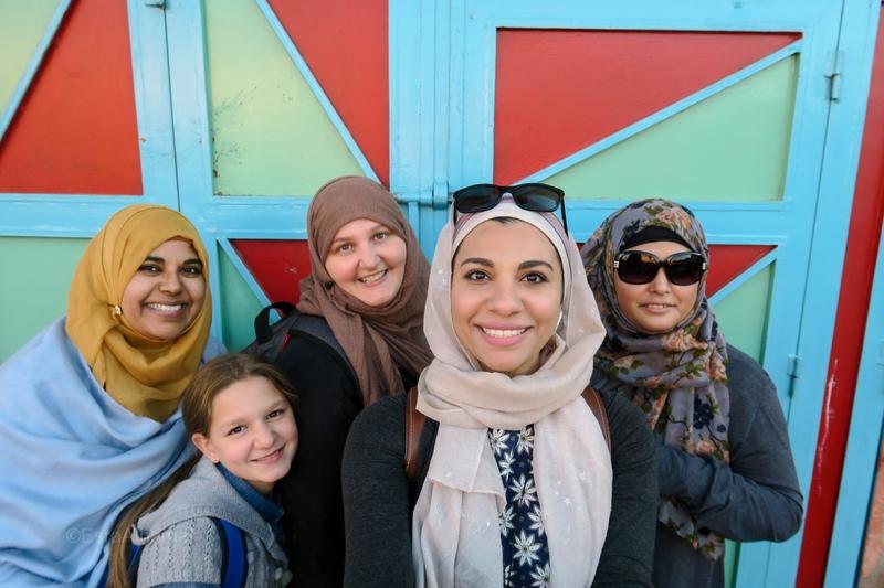 Muslim Women Moroccan Retreat