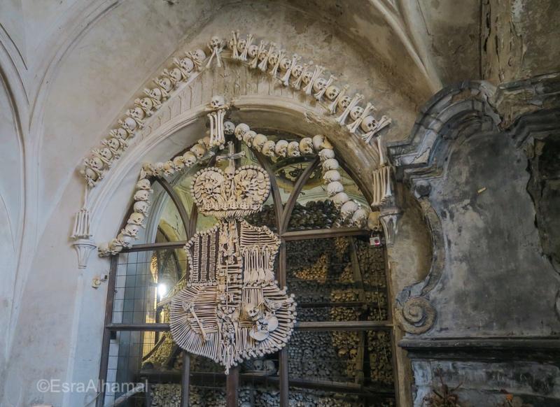 Bone Church Decor