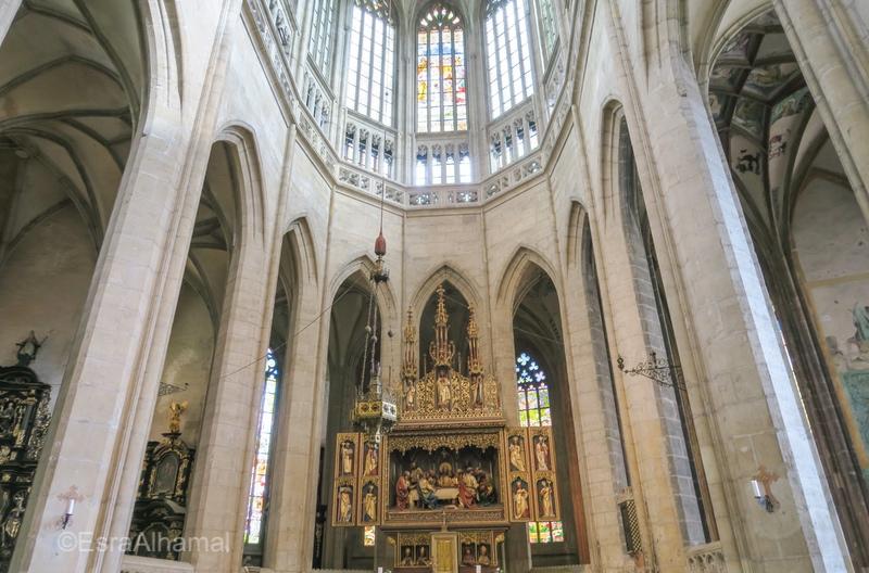 St. Barbara's Church Interior Design
