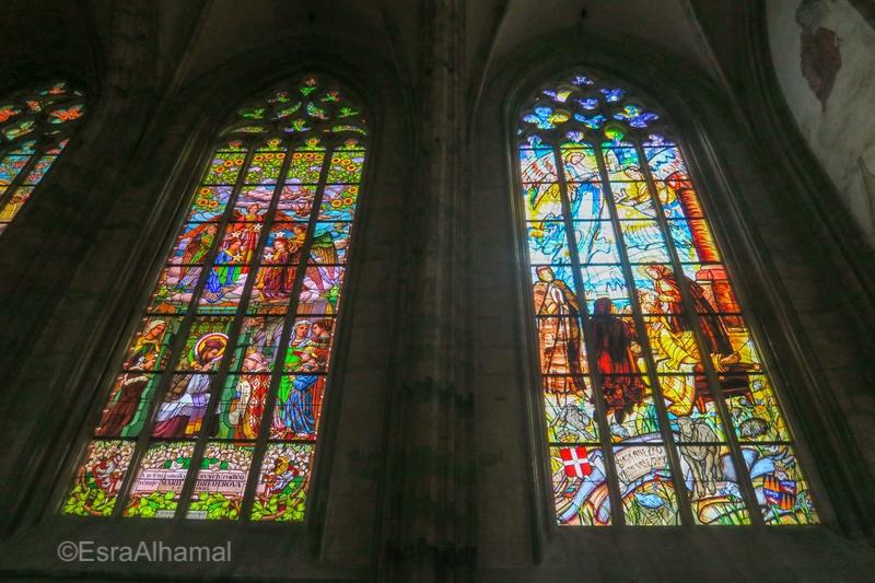 St. Barbara's Church Glass Windows