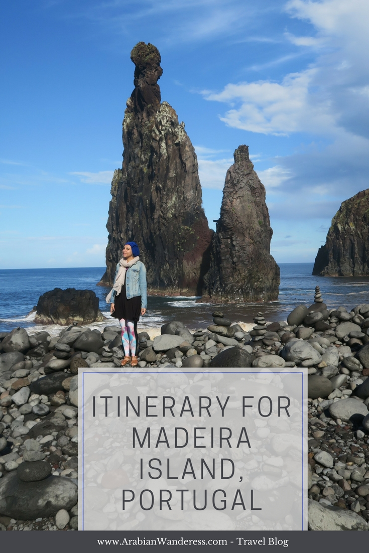 Itinerary for Madeira Island, Portugal