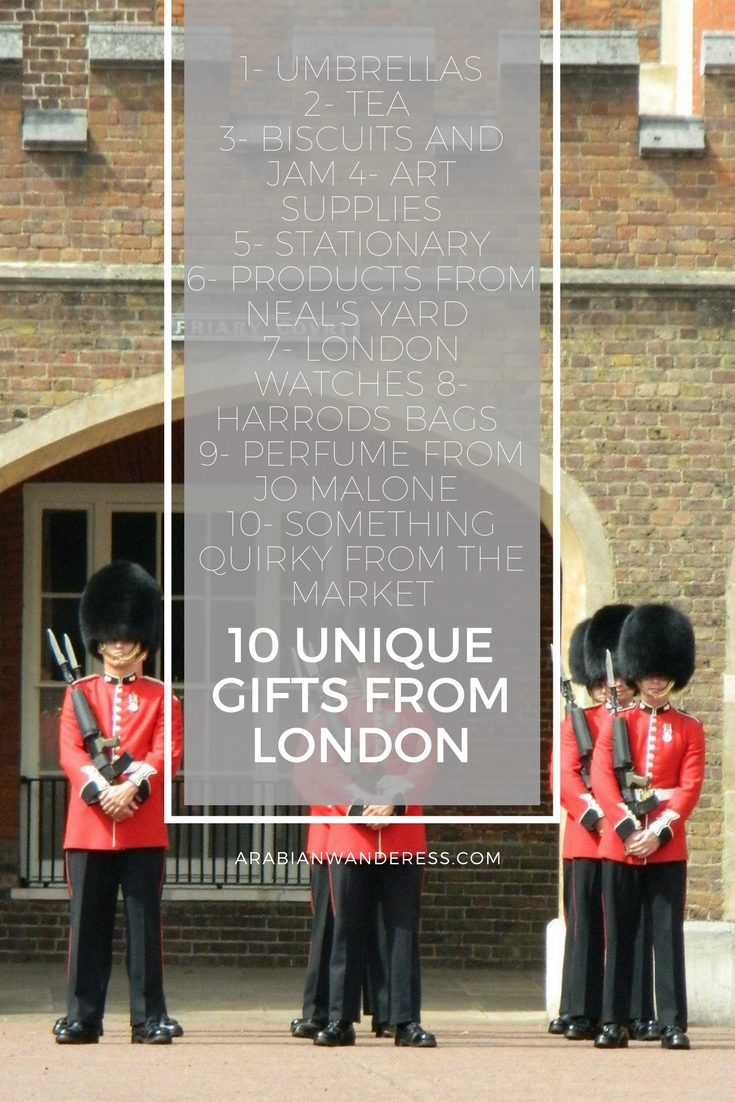 10 unique Gifts From London