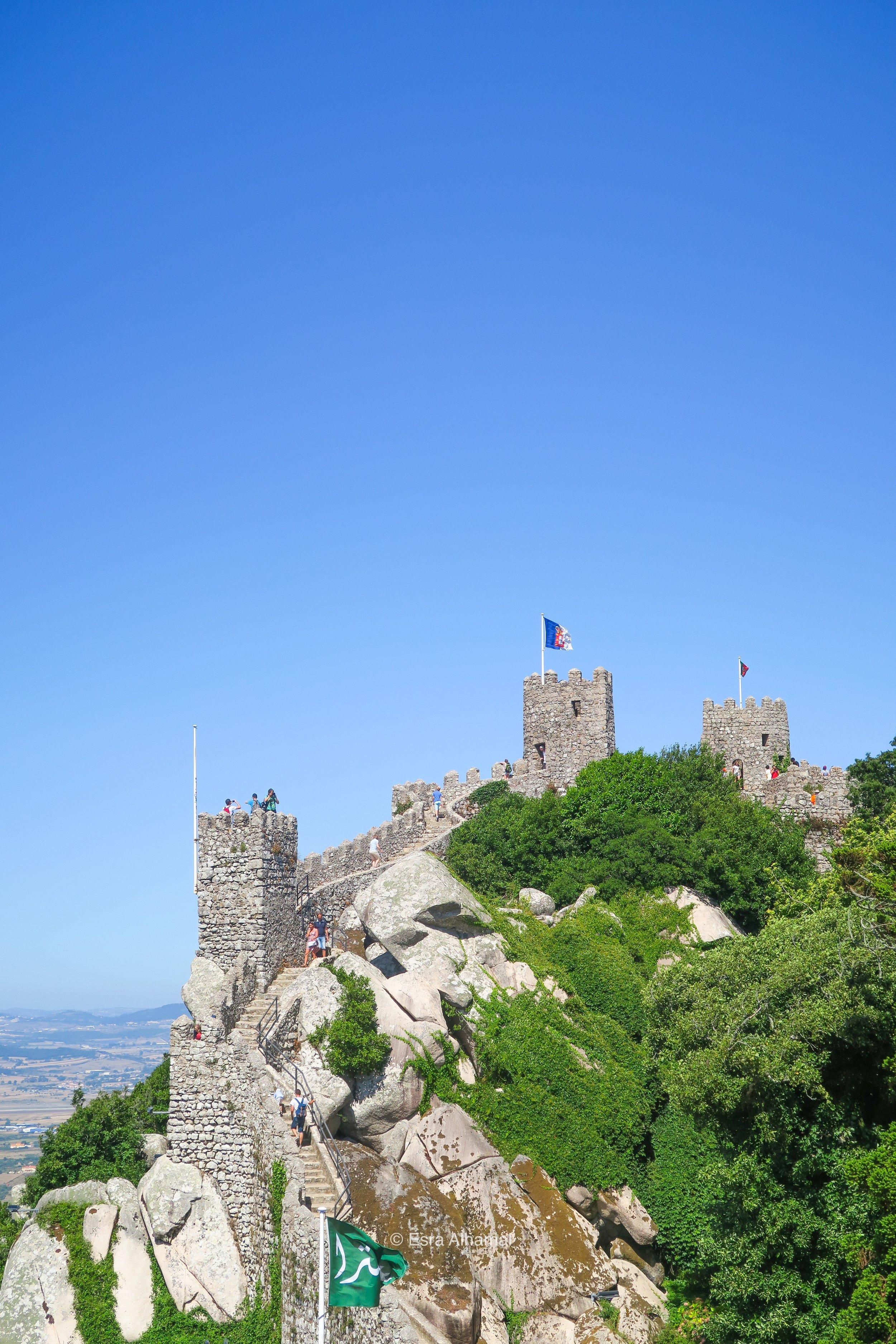 Moorish Castle Sintra Portugal