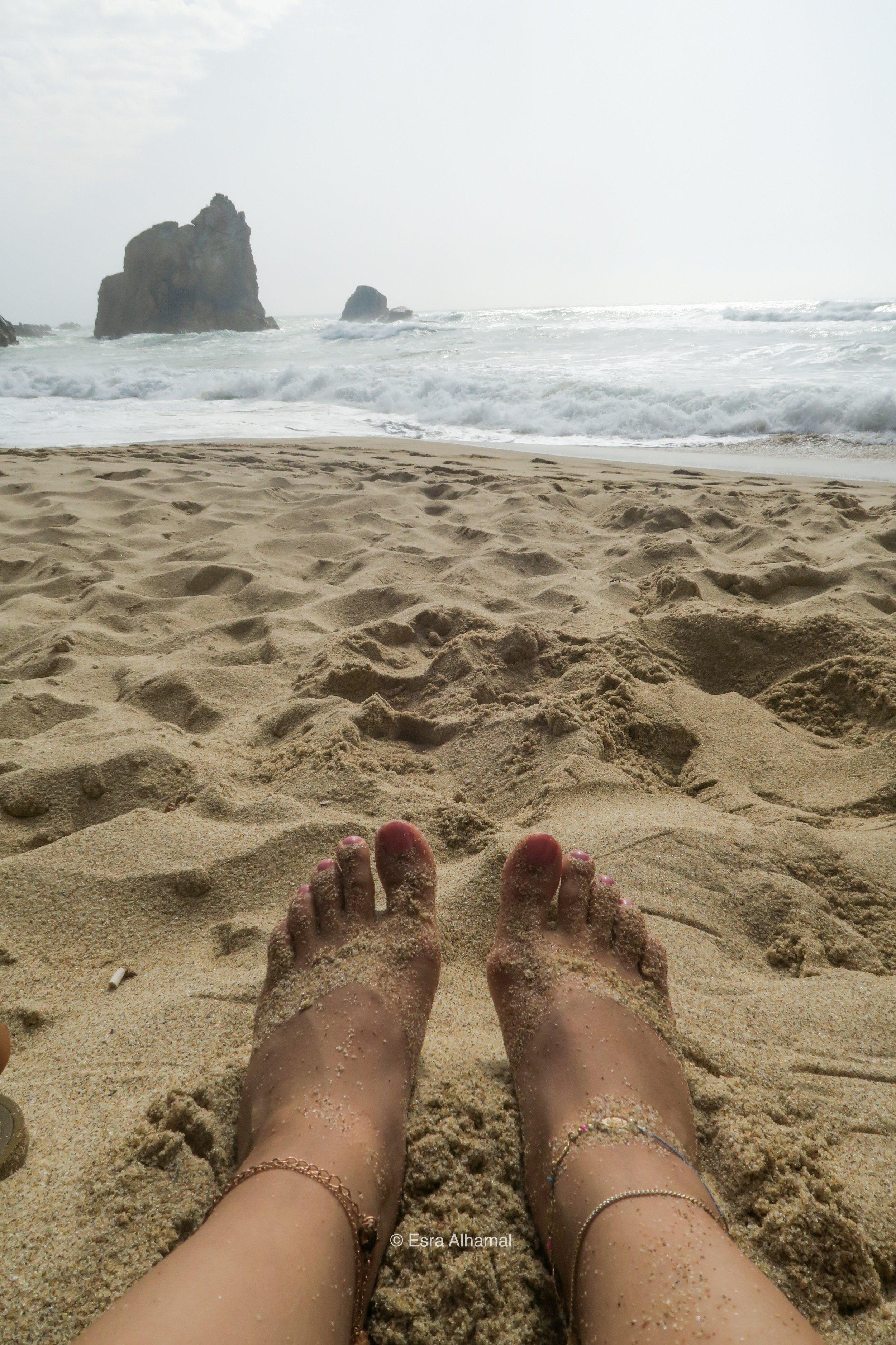 Ursa Beach near Sintra