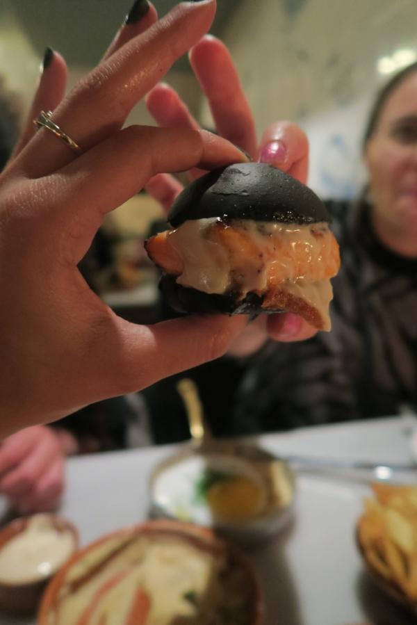 GREEK SLIDERS Mini Fish Burger London