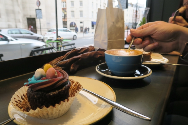 Coffee and Cake Covent Garden London