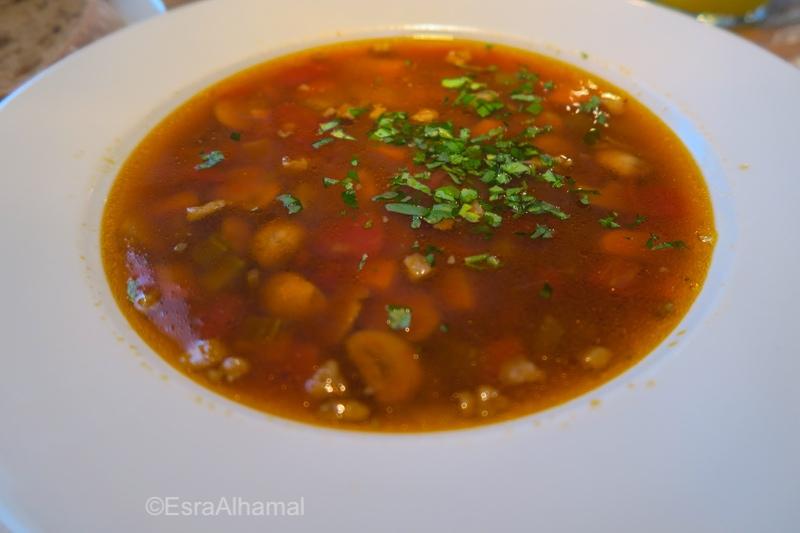 Veggie soup in Vilnius