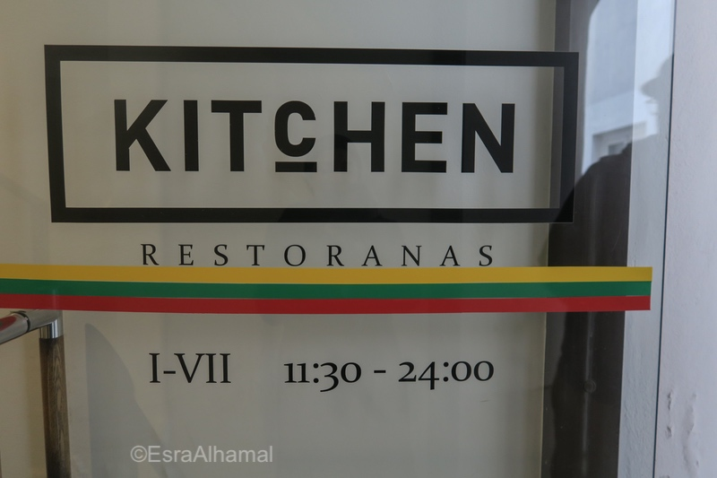 Kitchen restaurant recommendation in Vilnius