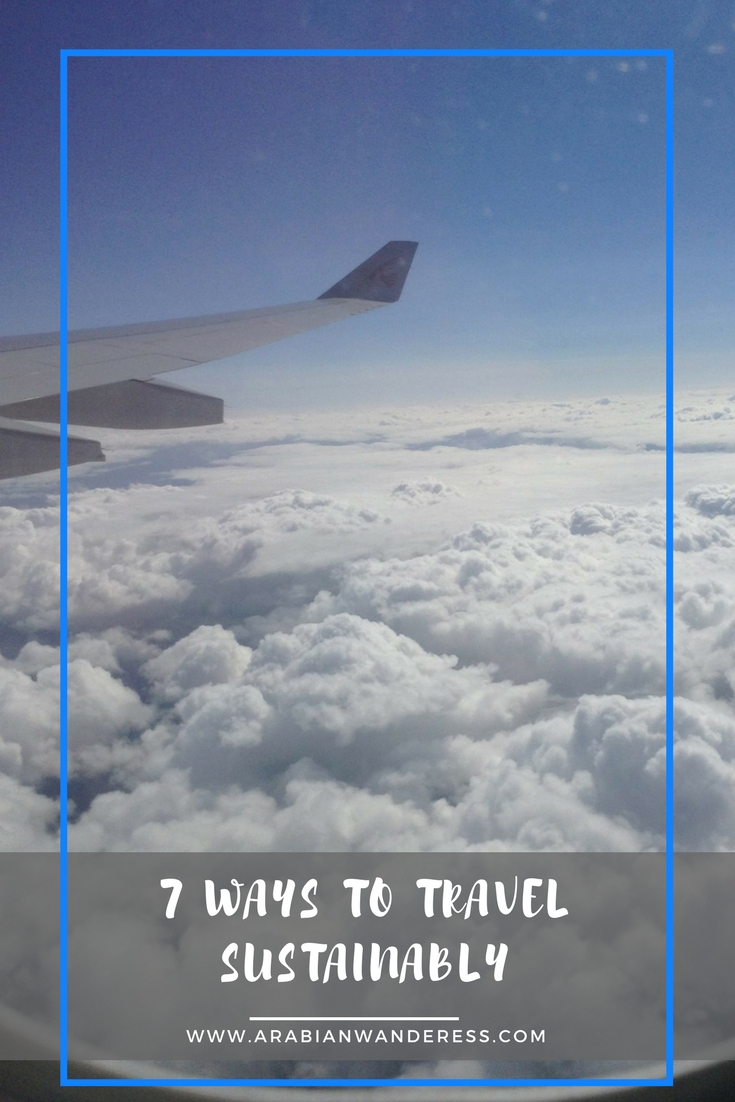7 Ways to Travel Sustainably - Green Travel