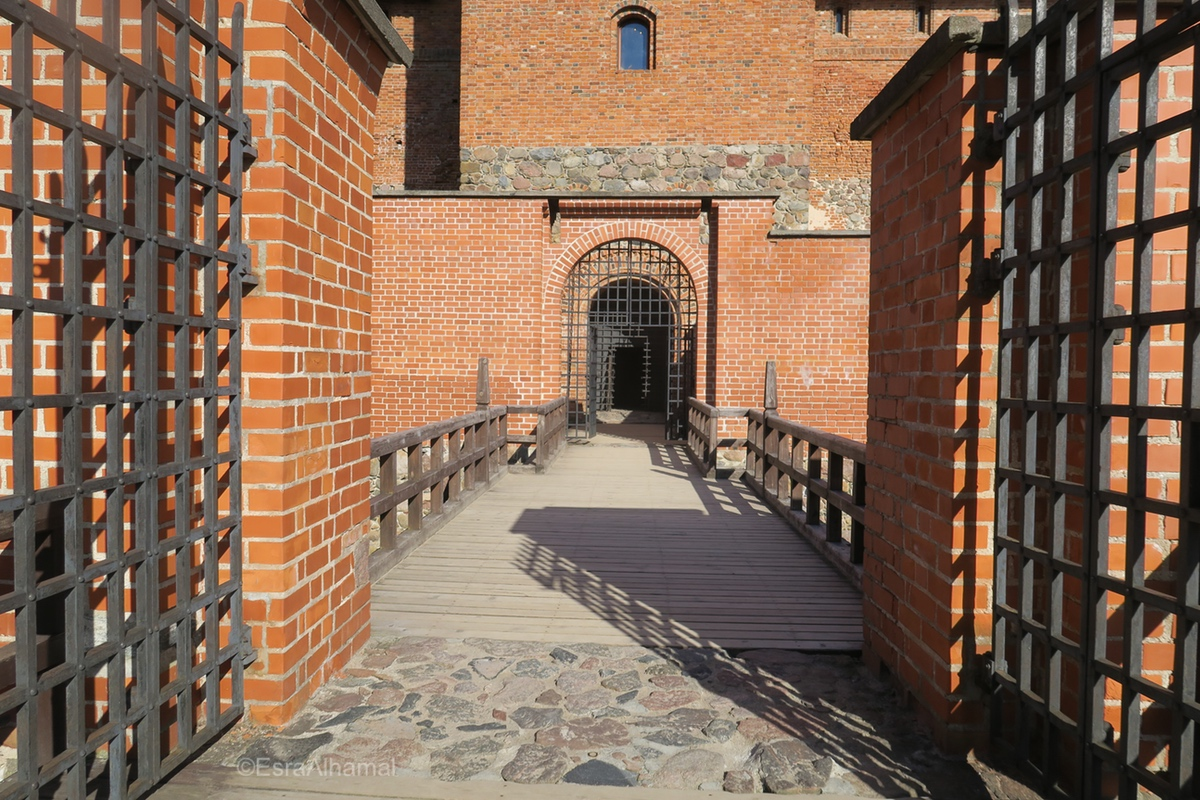Inside the castle - Day Trip From Vilnius, Lithuania To The Trakai Island Castle