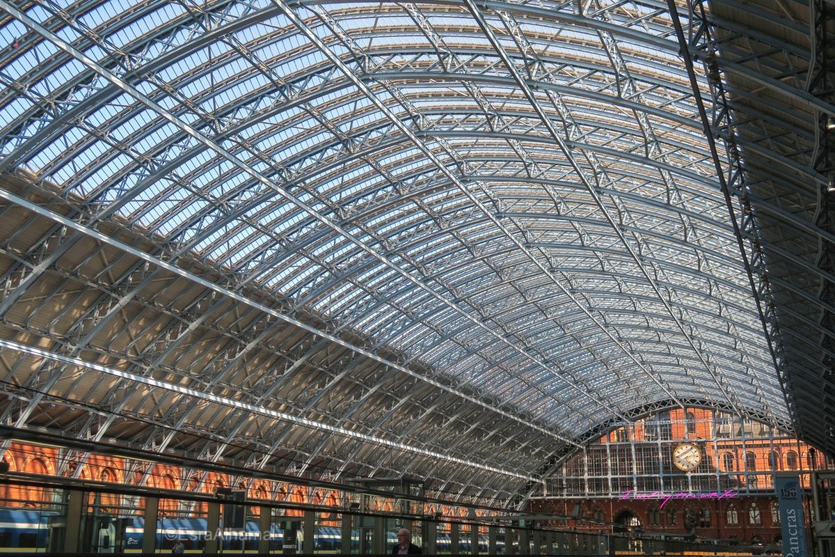 St. Pancras train station