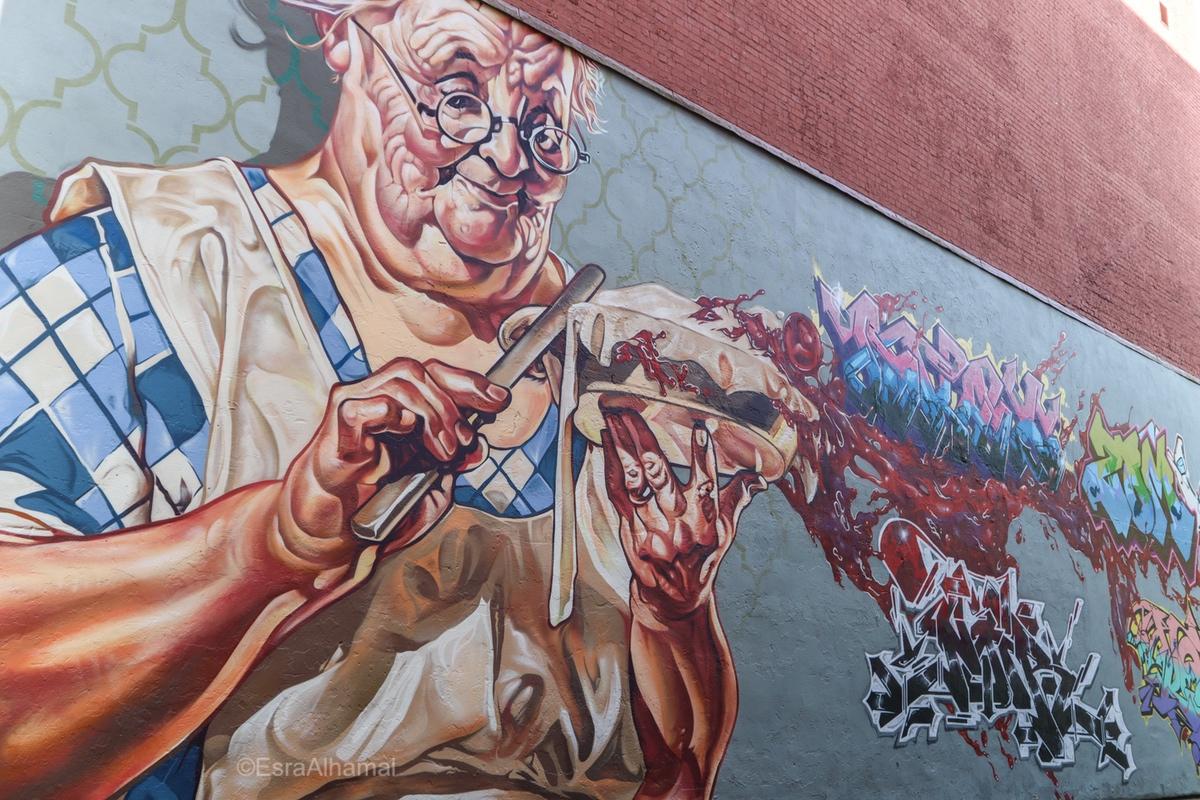 Big Scale Graffiti - street art in Leicester