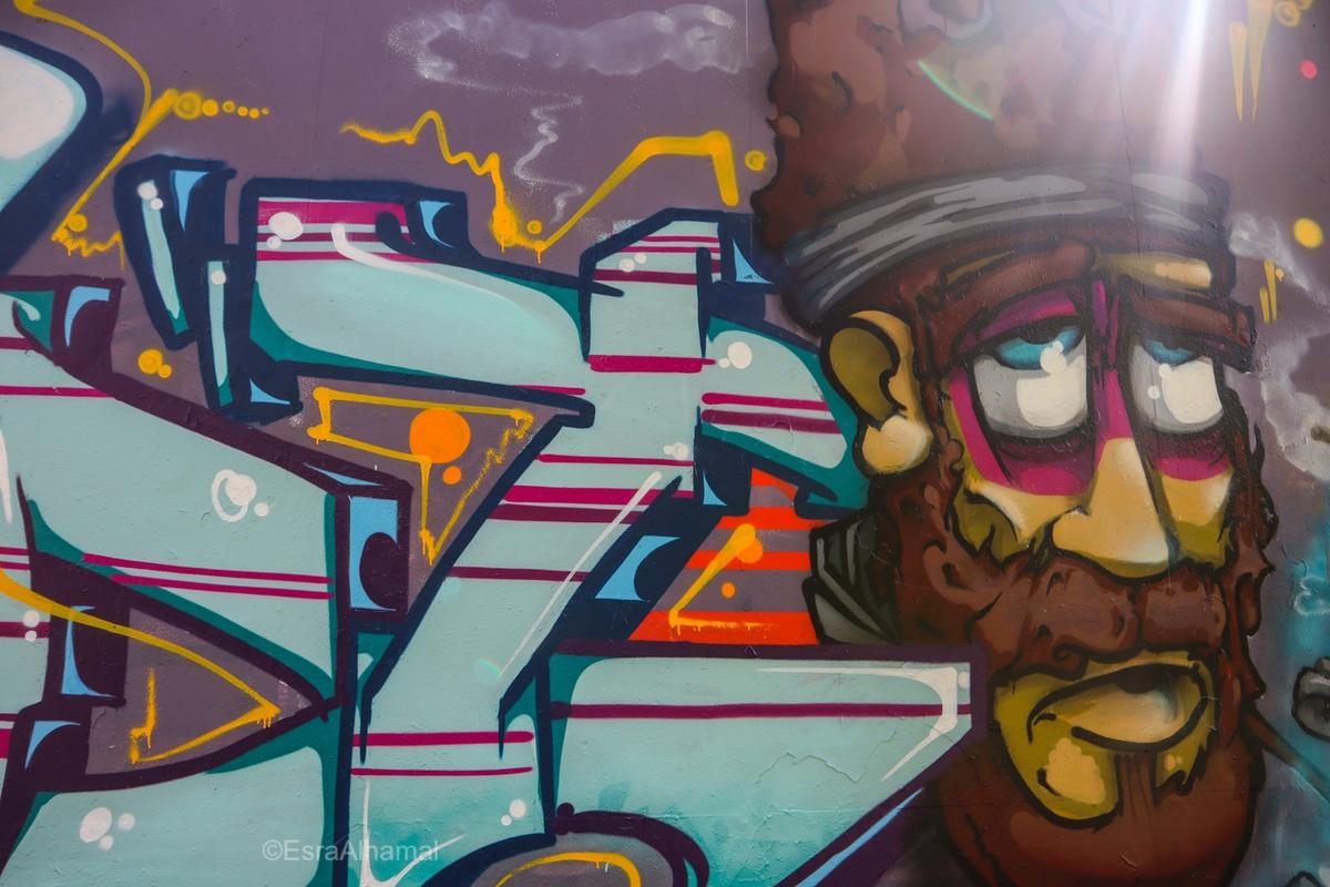 Fidget One British Artist | Graffiti street art in Leicester