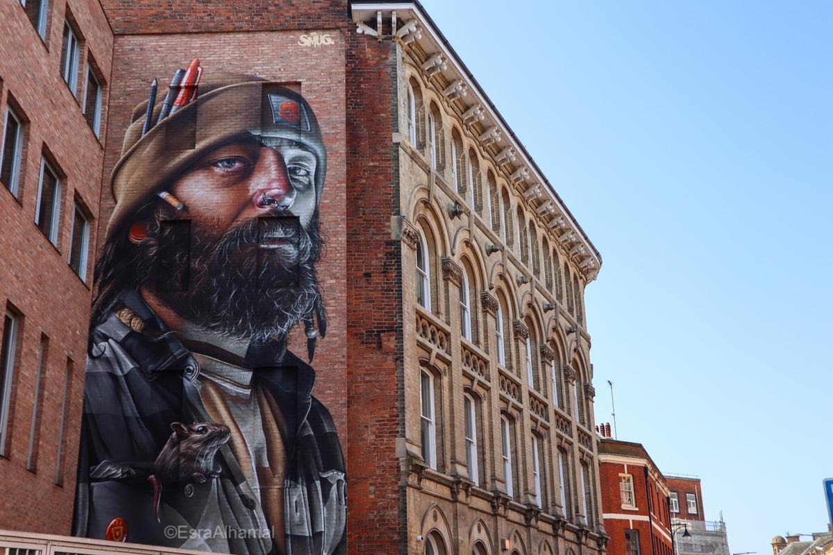Smug - Graffiti street art in Leicester