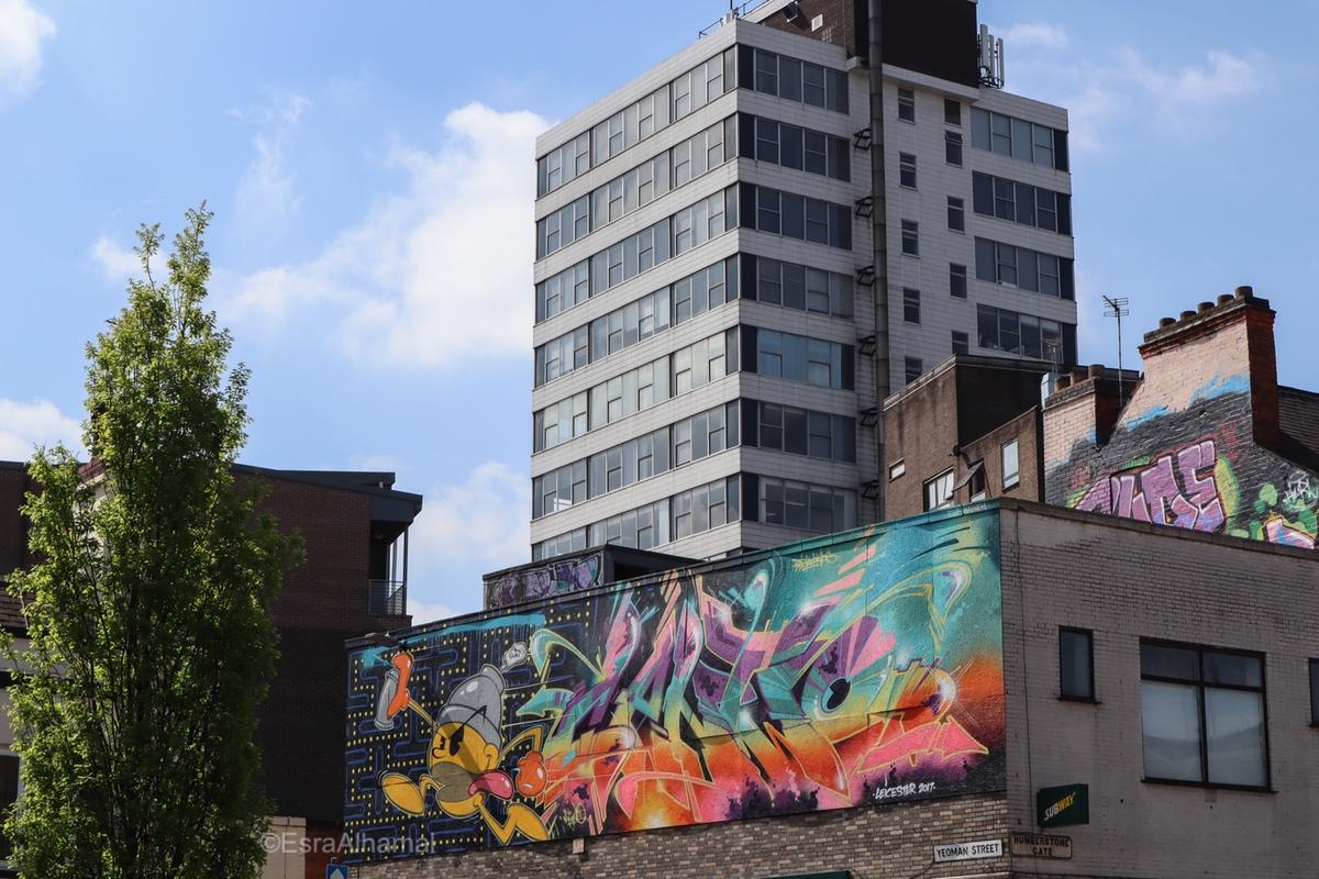 Creative artwork | Graffiti street art in Leicester