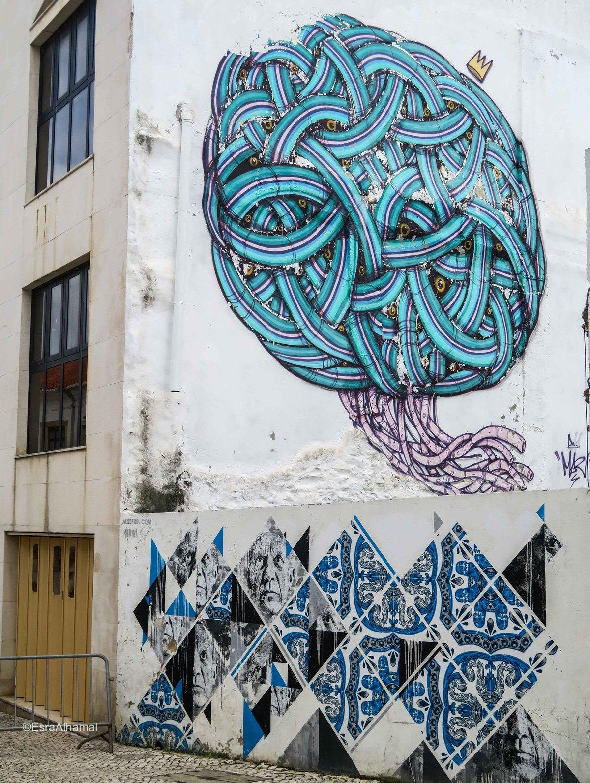 Graffiti in Lagos, Portugal