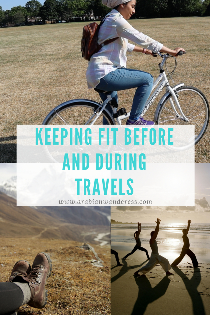 Keeping Fit Before and During Travel